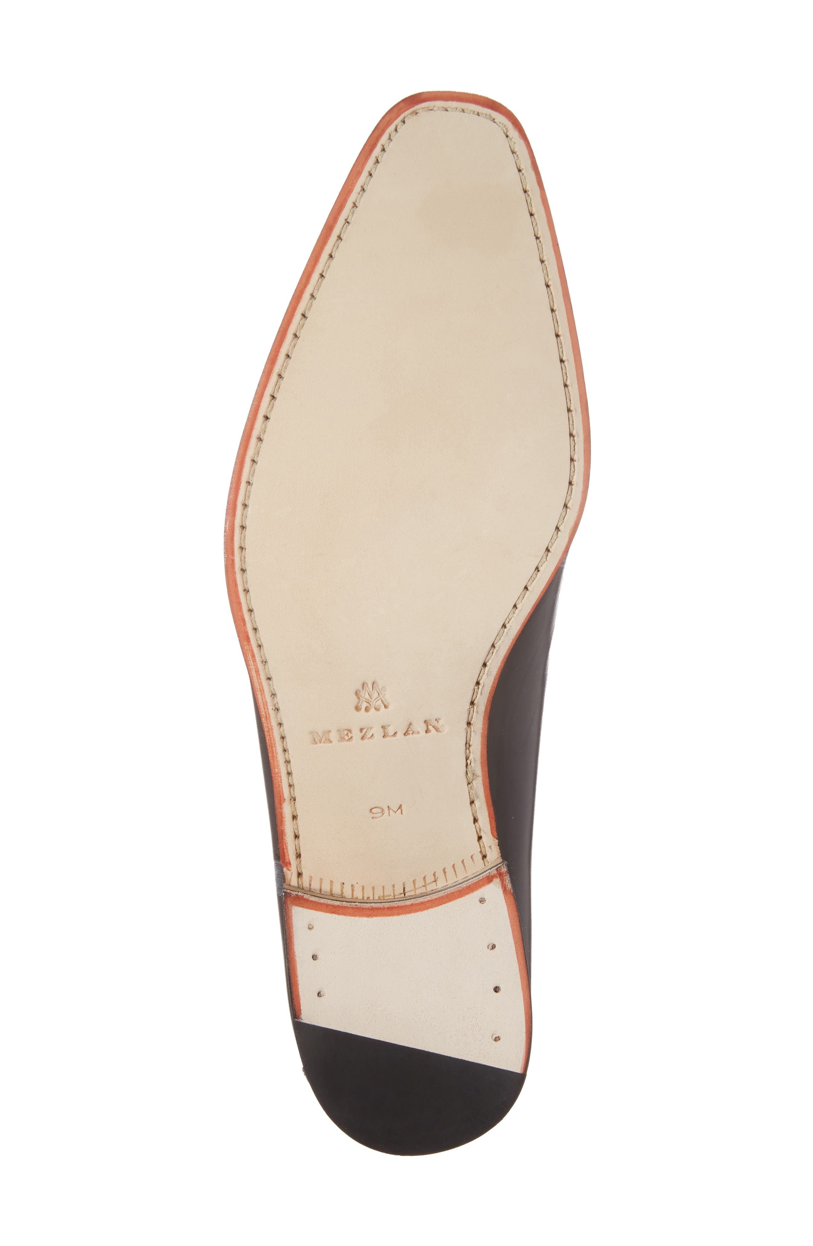 Brandt Venetian Loafer,                             Alternate thumbnail 6, color,                             Black Leather