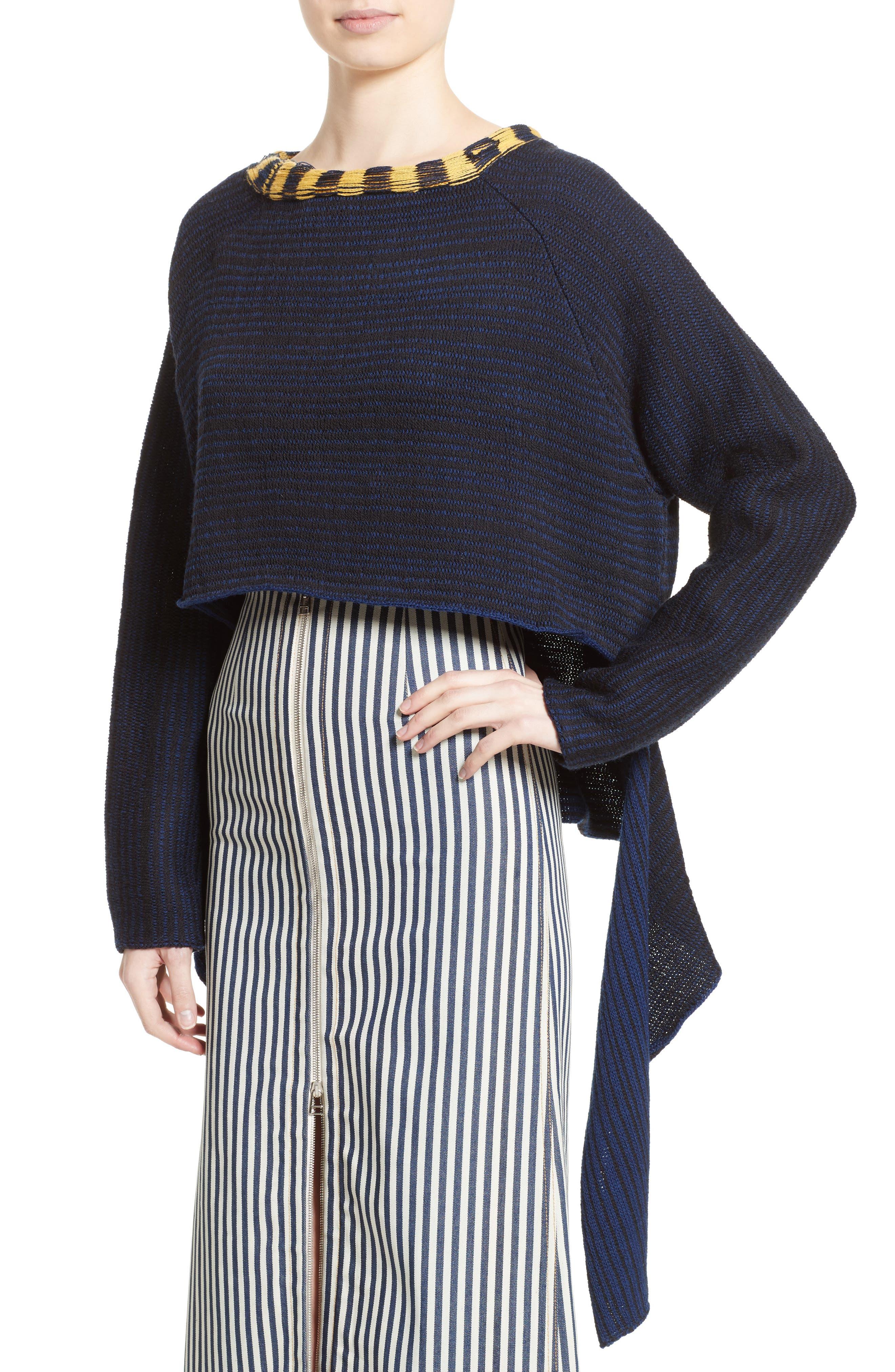 Alternate Image 6  - Eckhaus Latta Tie Back Sweater