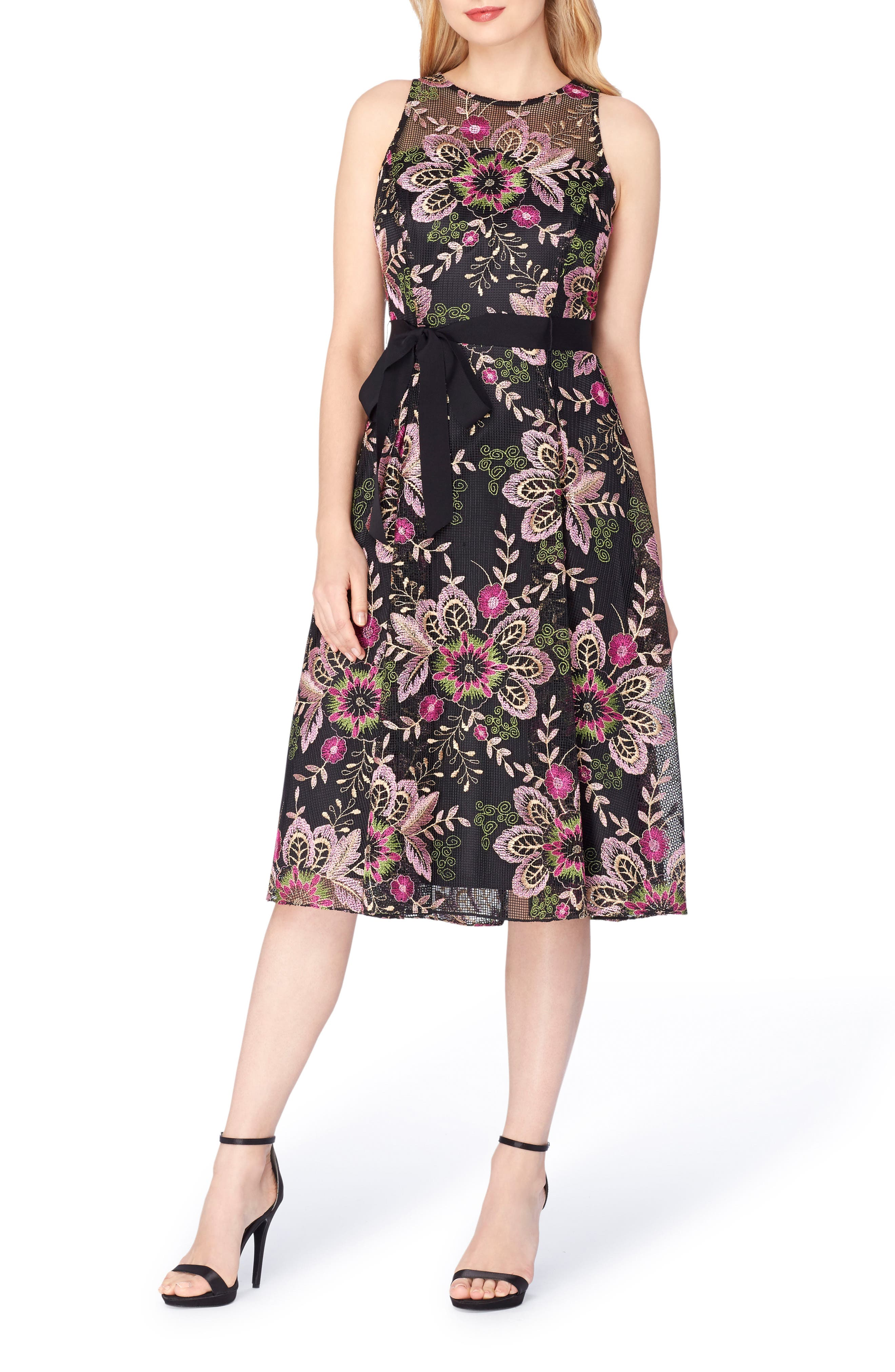 Alternate Image 3  - Tahari Fit & Flare Dress
