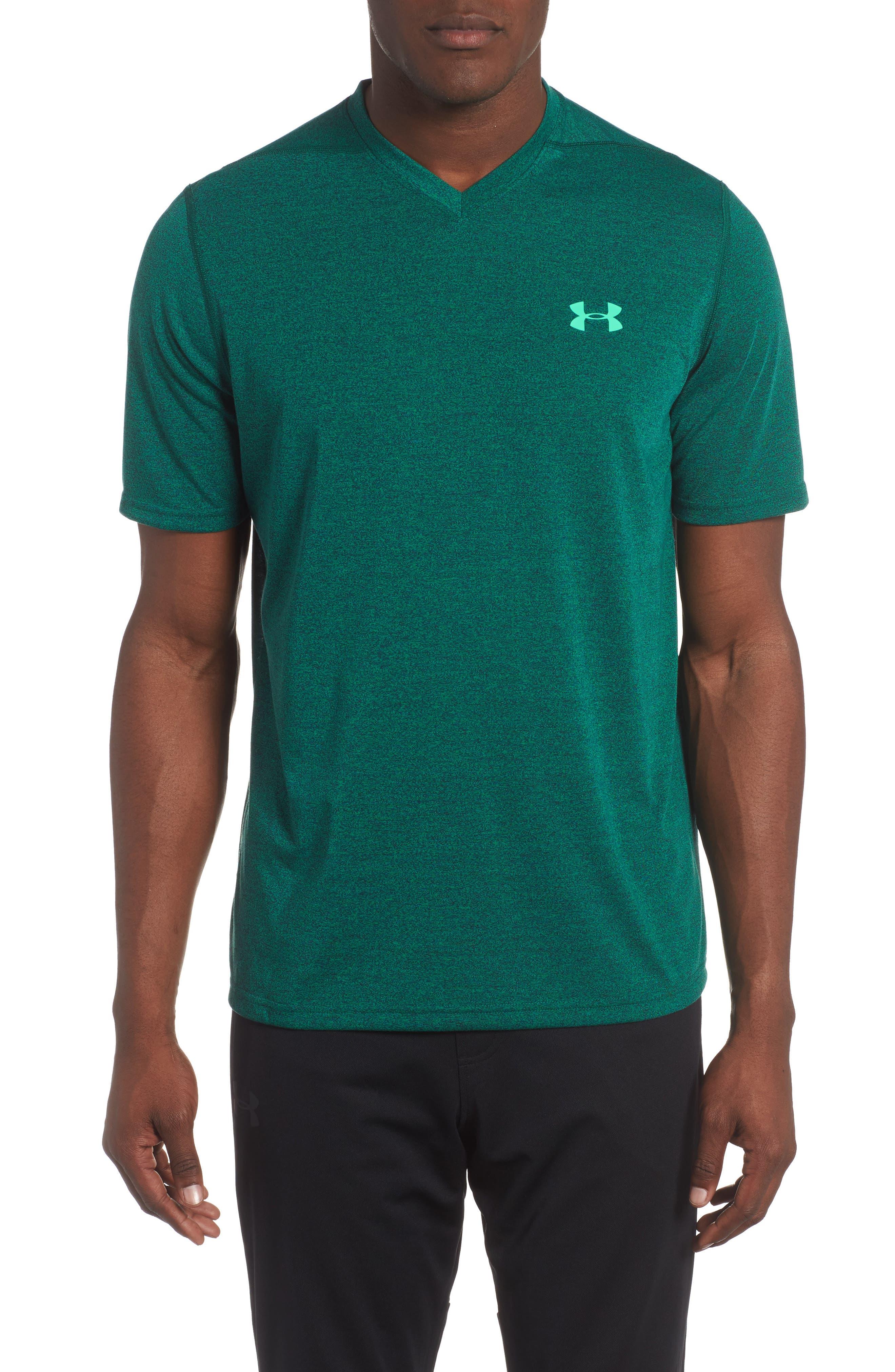 Threadborne Siro Regular Fit T-Shirt,                             Main thumbnail 1, color,                             Blue Marker/ Vapor Green