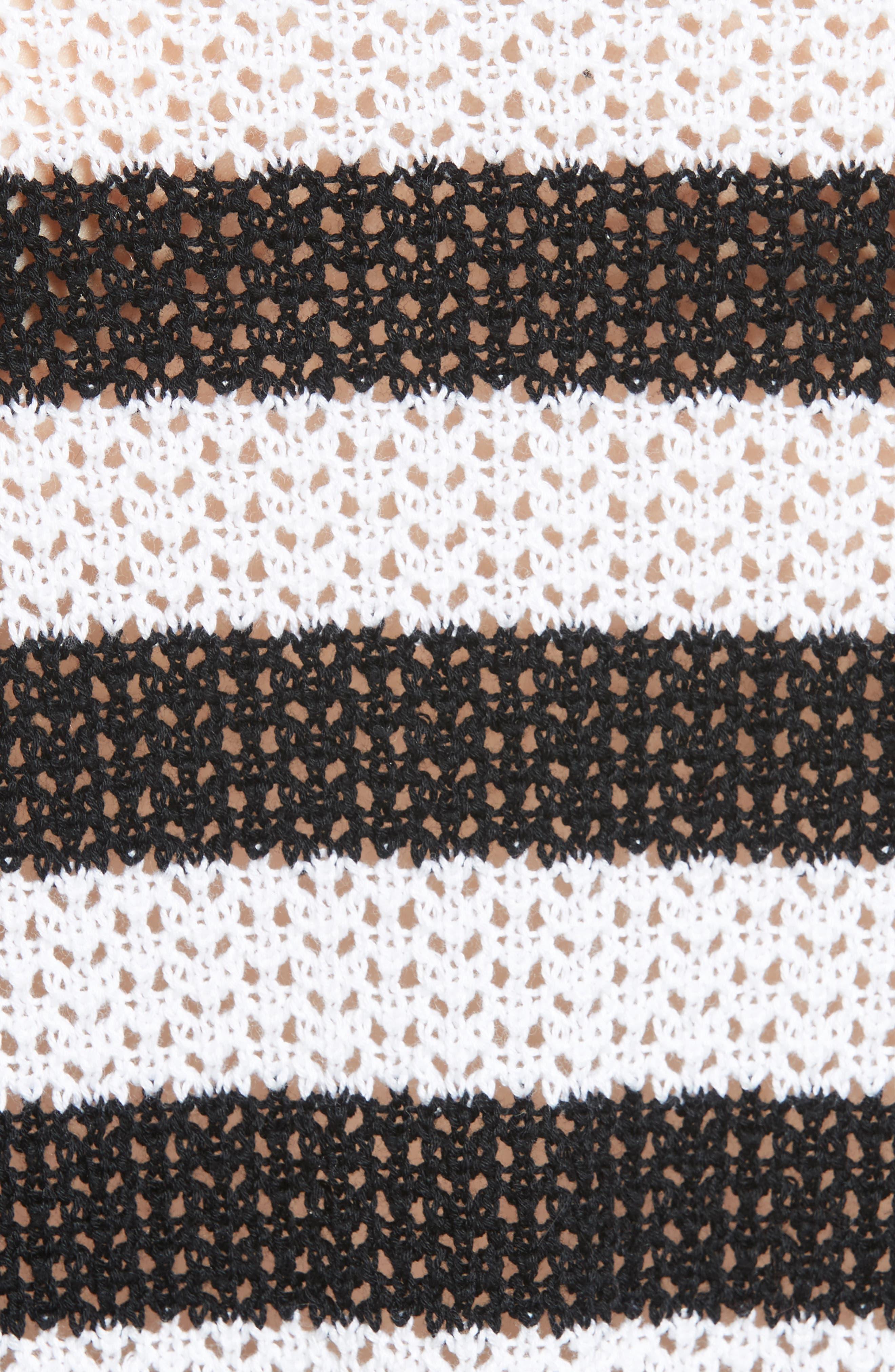 Alternate Image 5  - rag & bone/JEAN Tracey Cold Shoulder Cotton Sweater