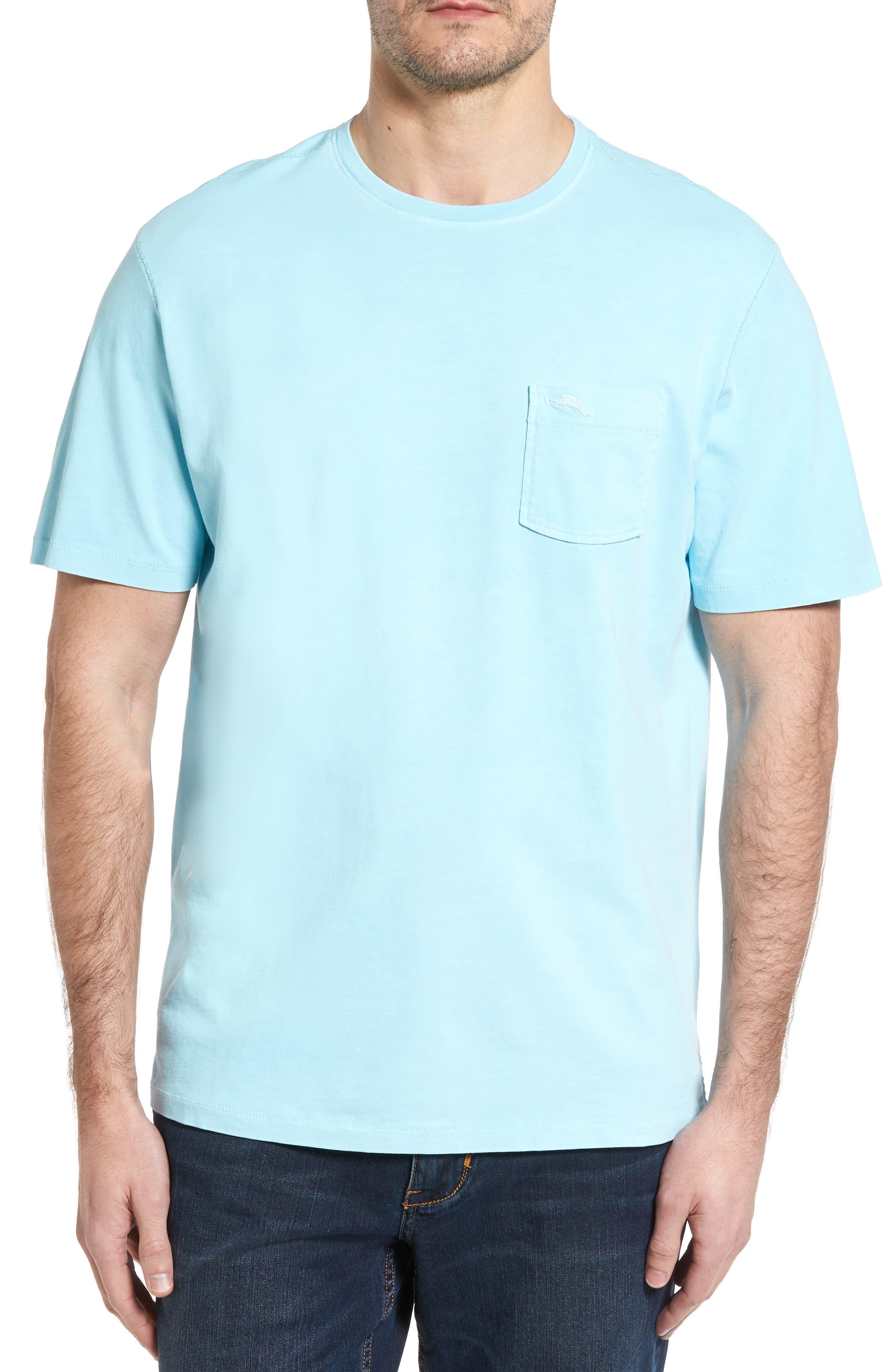 TOMMY BAHAMA New Bahama Reef Island Modern Fit Pima Cotton Pocket T-Shirt