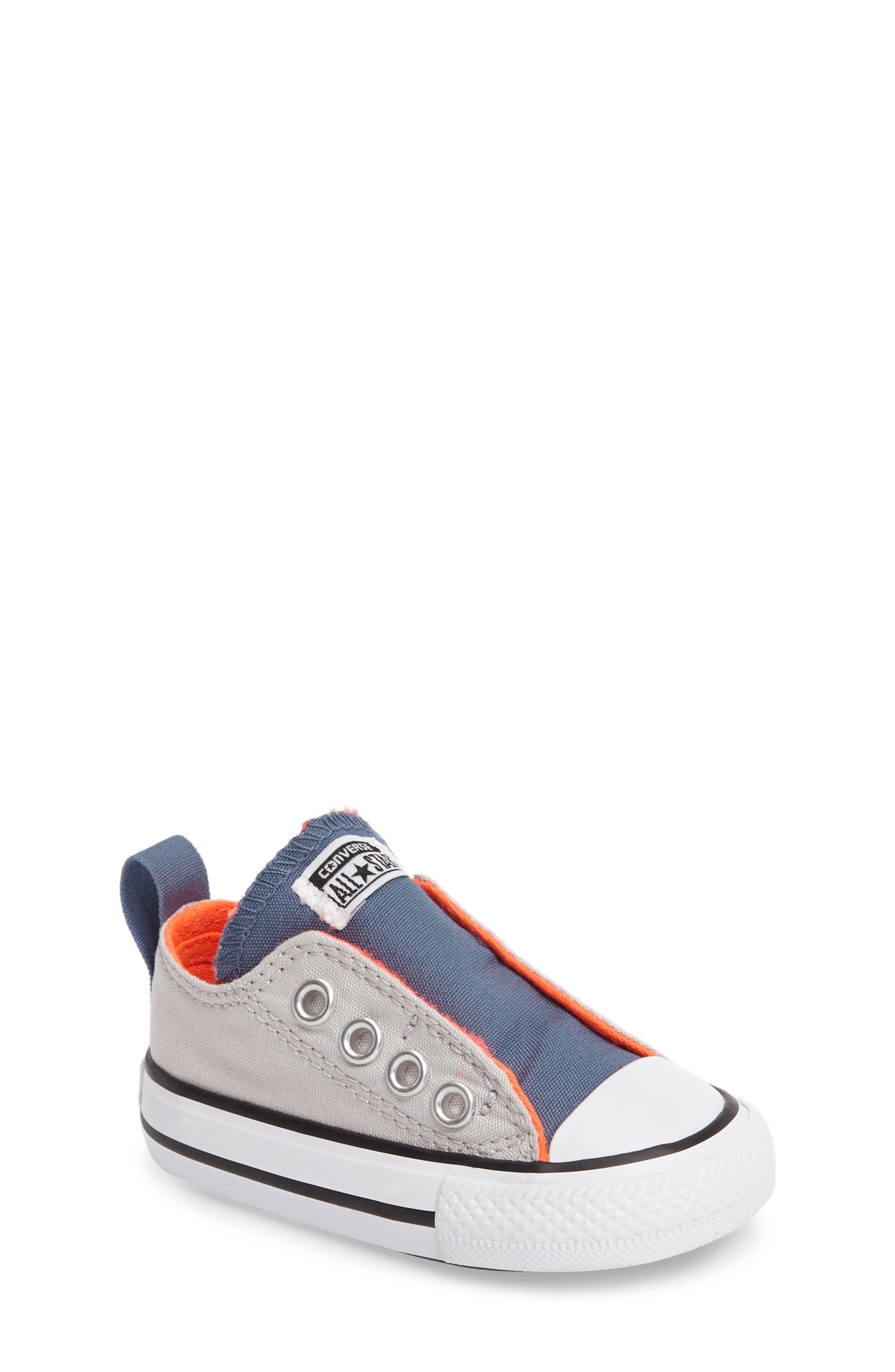 Main Image - Converse Chuck Taylor® 'Simple Slip' Sneaker (Baby, Walker & Toddler)