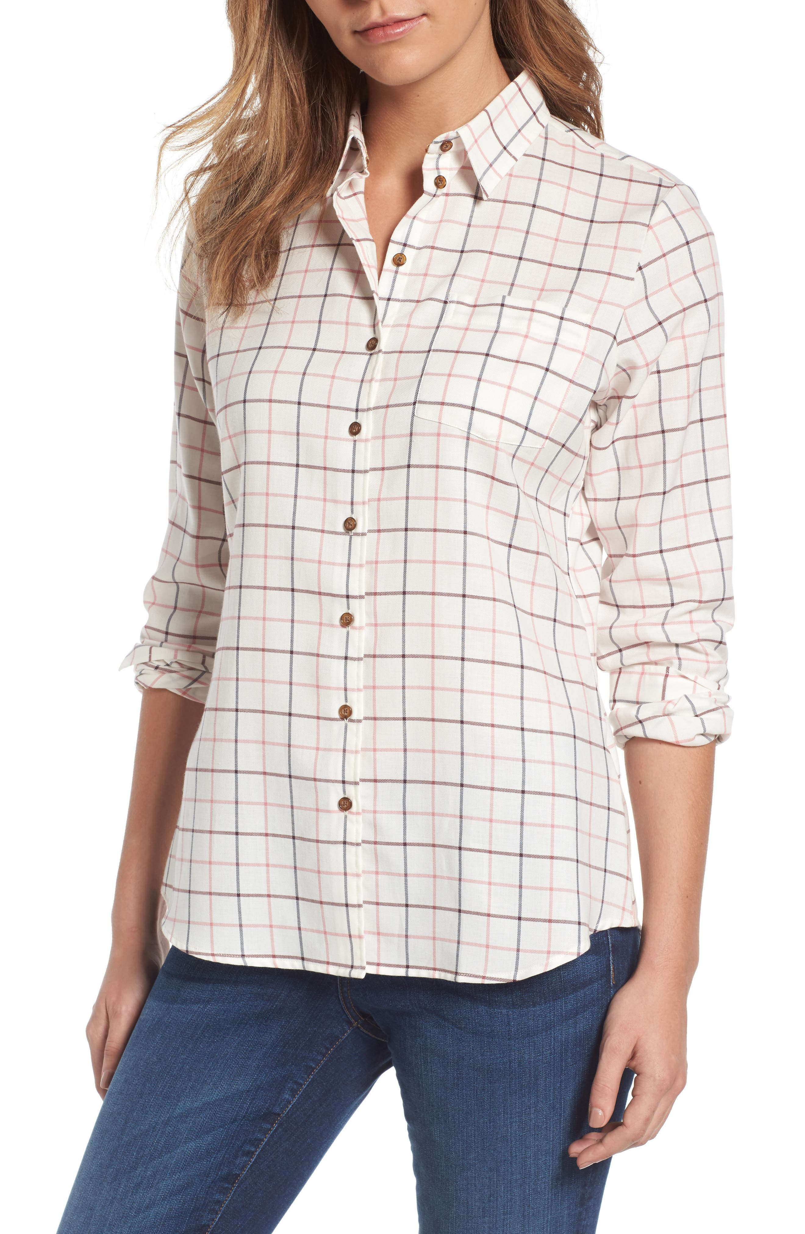 Alternate Image 1 Selected - Barbour Triplebar Check Shirt