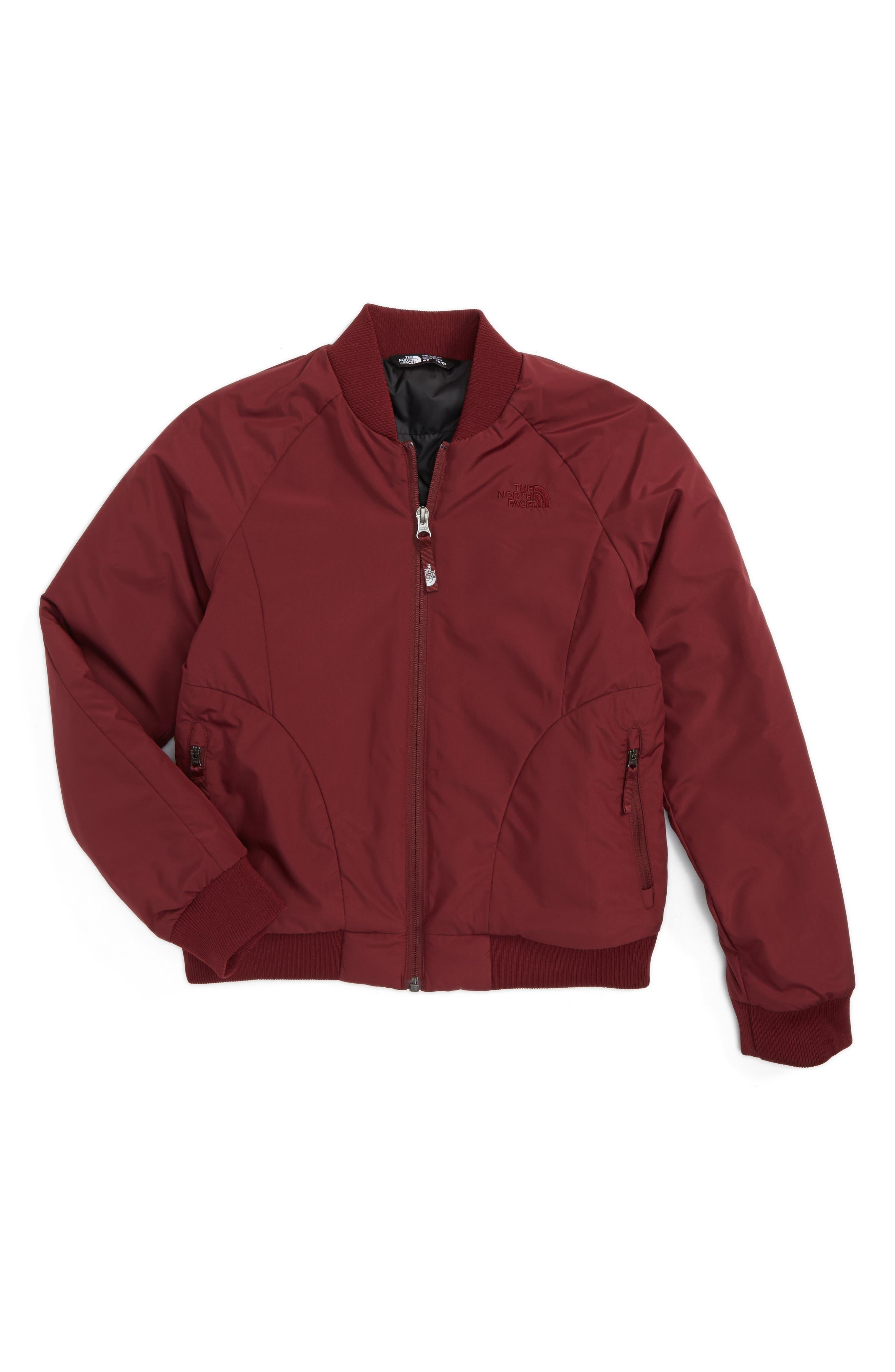 Main Image - The North Face Rydell Heatseeker™ Bomber Jacket (Big Girls)