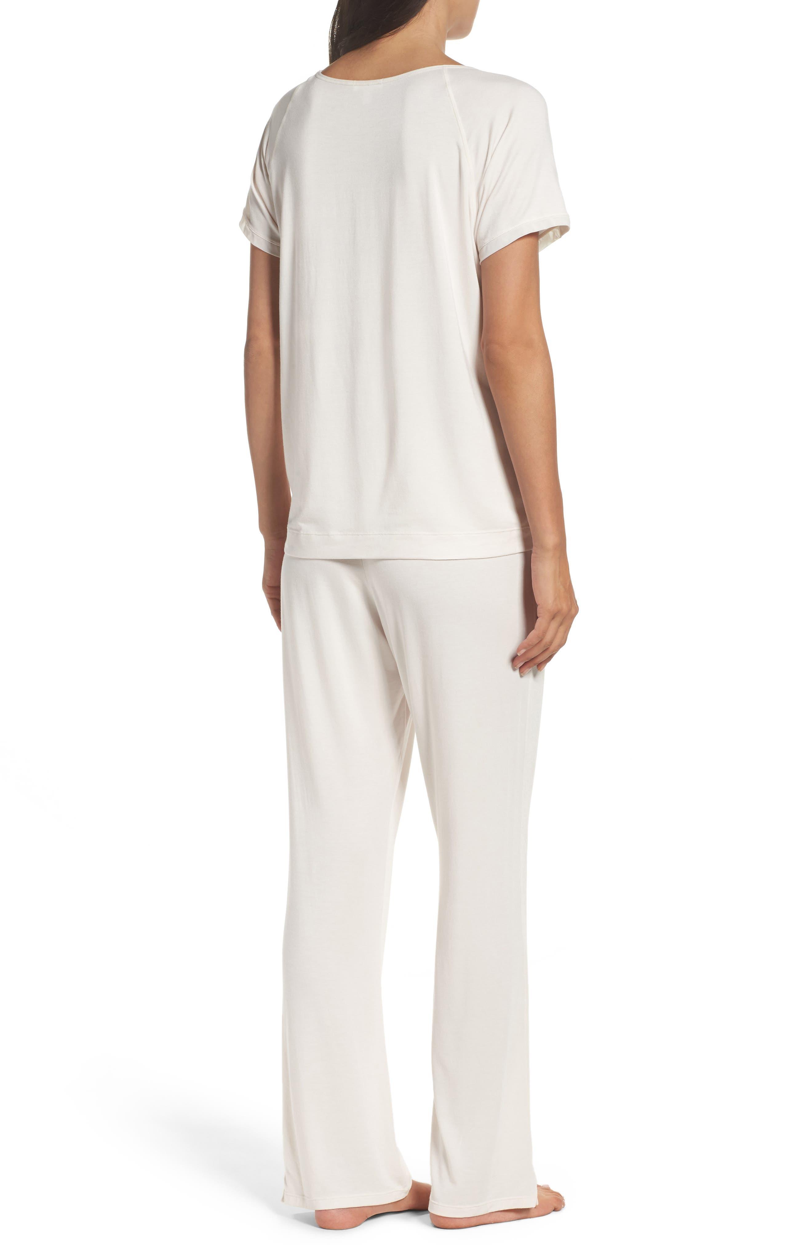 Alternate Image 2  - Naked Stretch Modal Pajamas