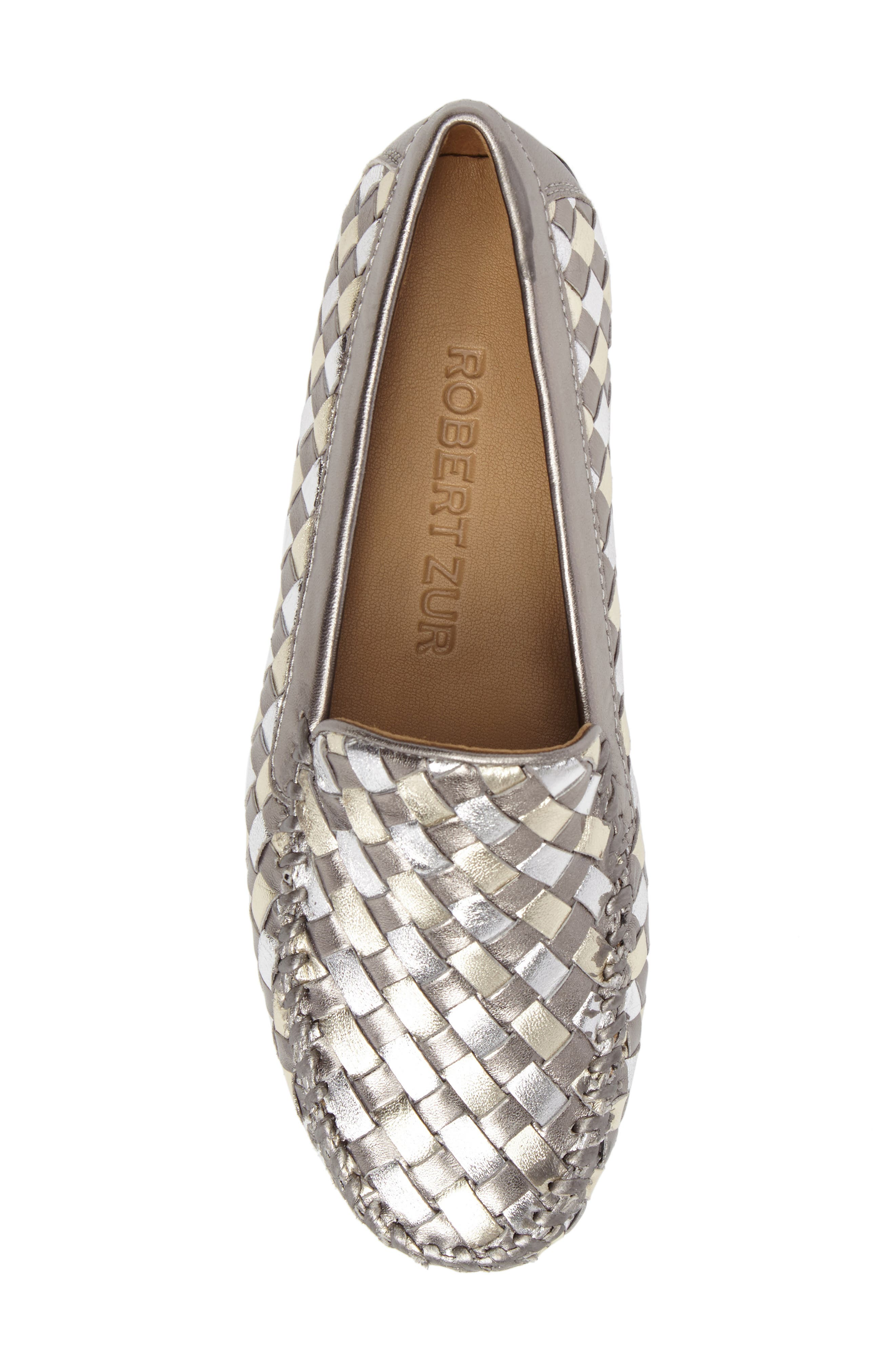Alternate Image 5  - Robert Zur Woven Venetian Loafer (Women)