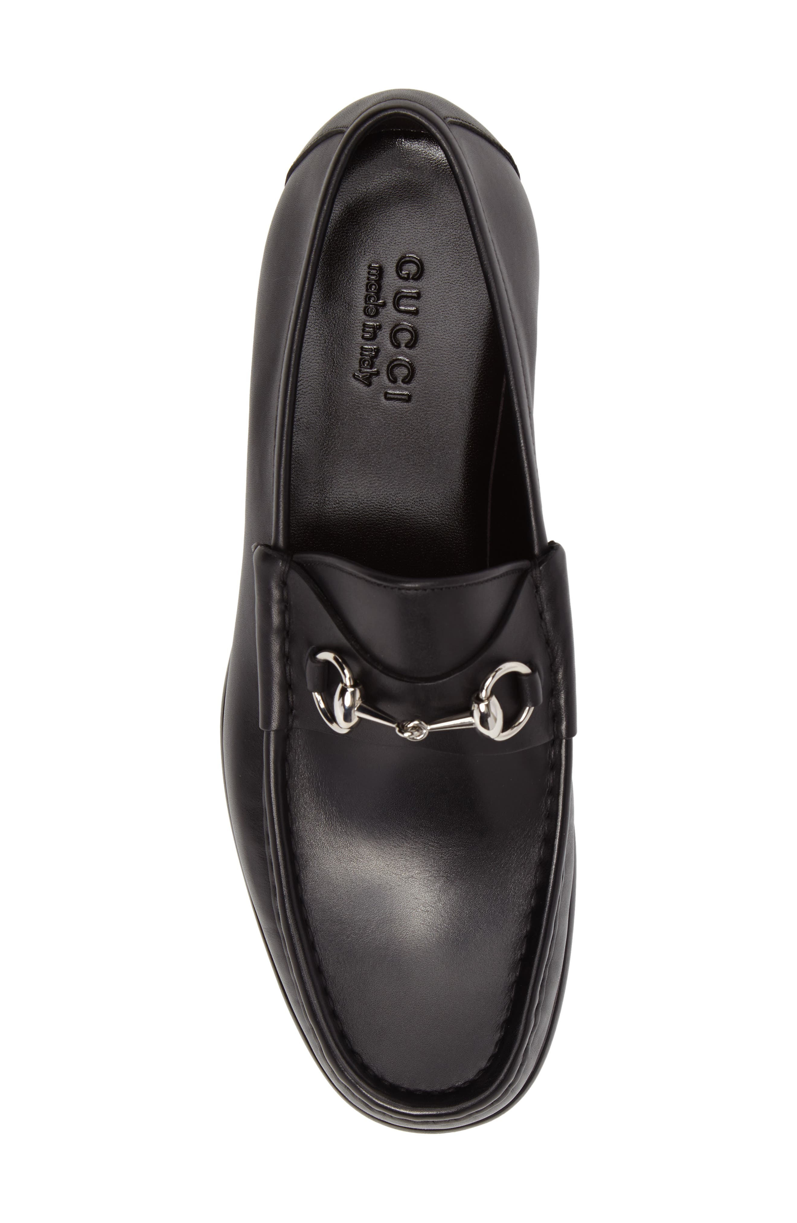 Alternate Image 5  - Gucci Classic Leather Moccasin