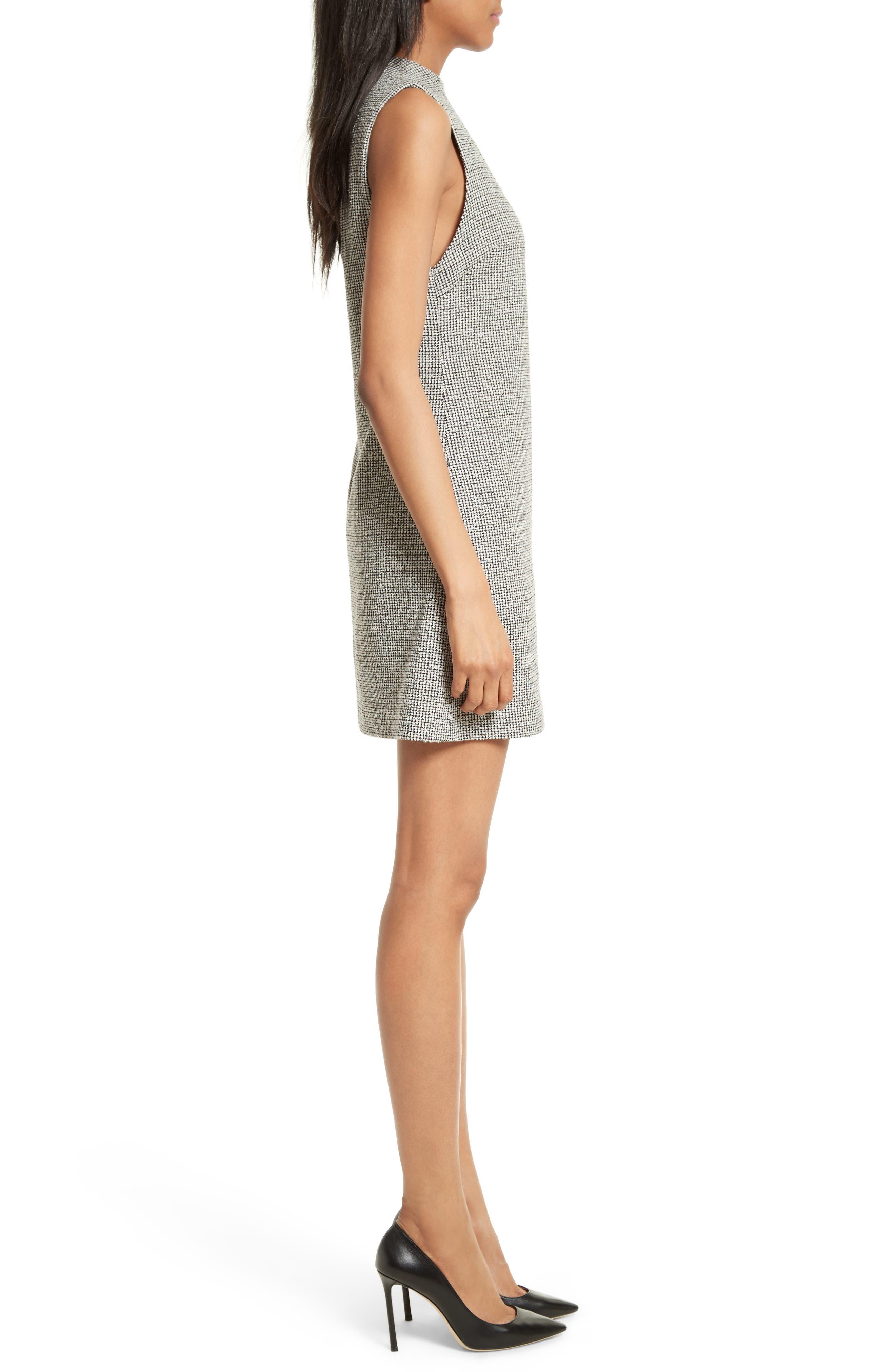 Alternate Image 3  - Alice + Olivia Coley Mock Neck Dress