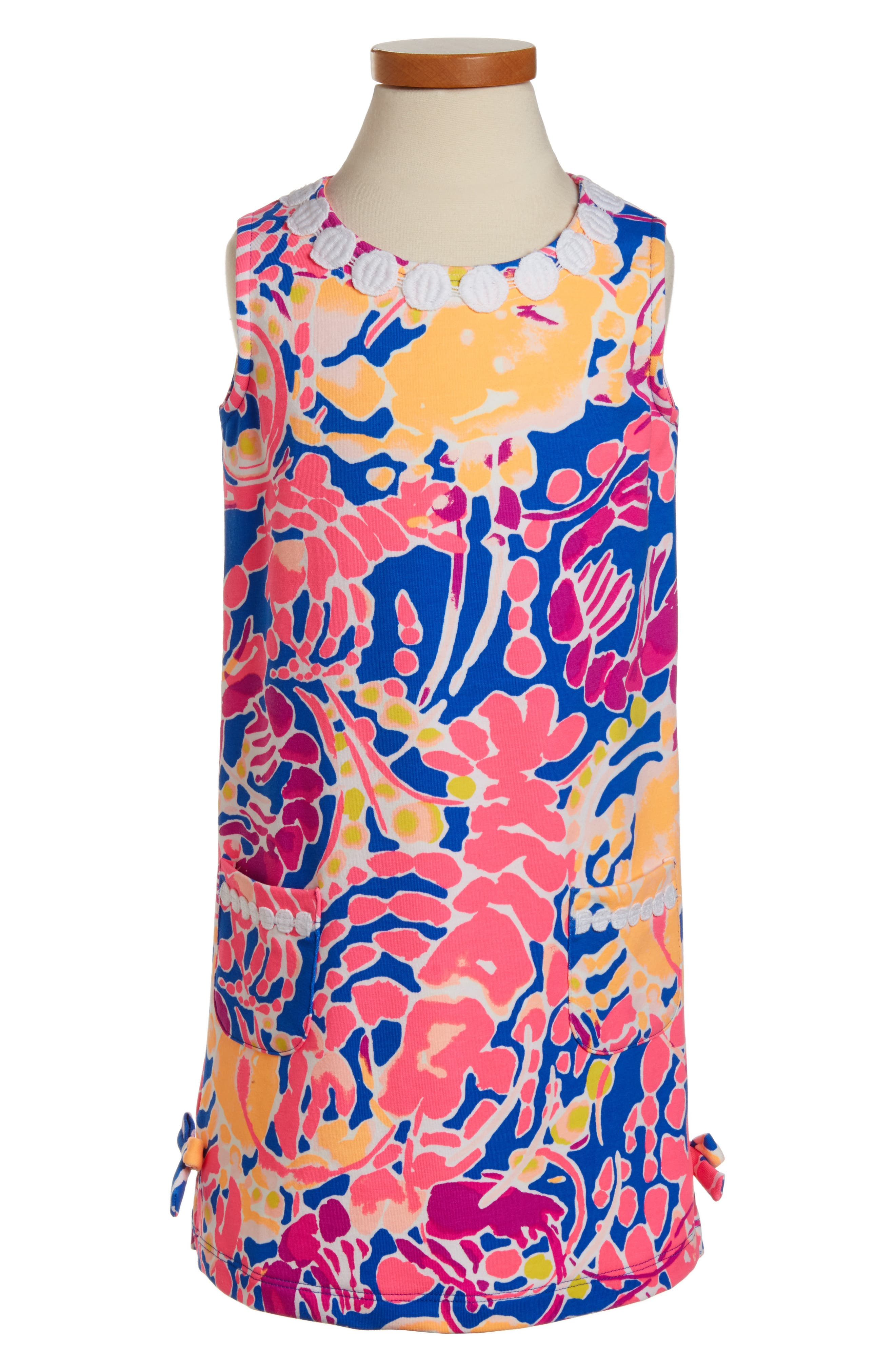 Little Lilly Shift Dress,                         Main,                         color, Brilliant