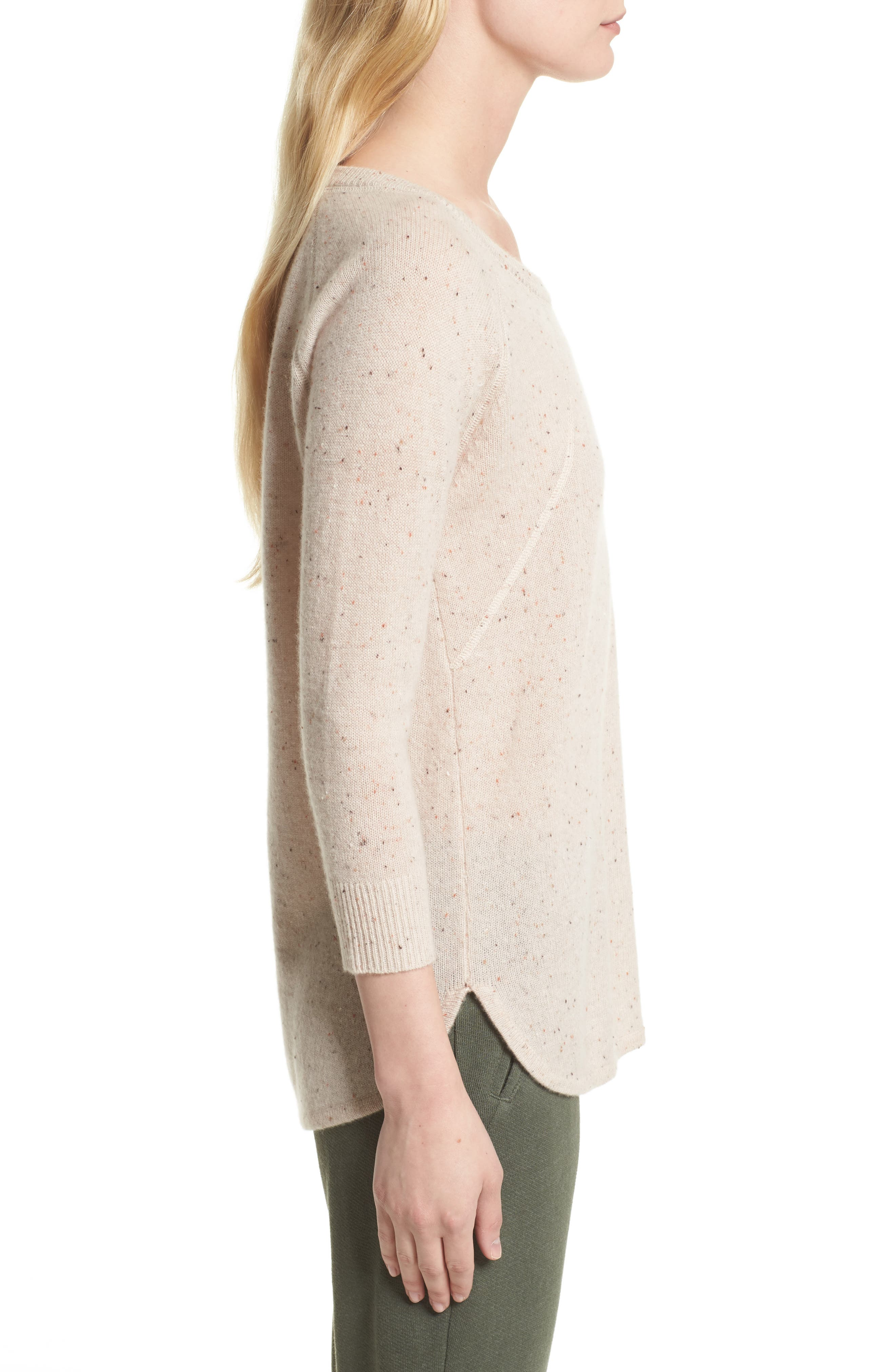 Alternate Image 3  - ATM Anthony Thomas Melillo Cashmere Sweater (Nordstrom Exclusive)