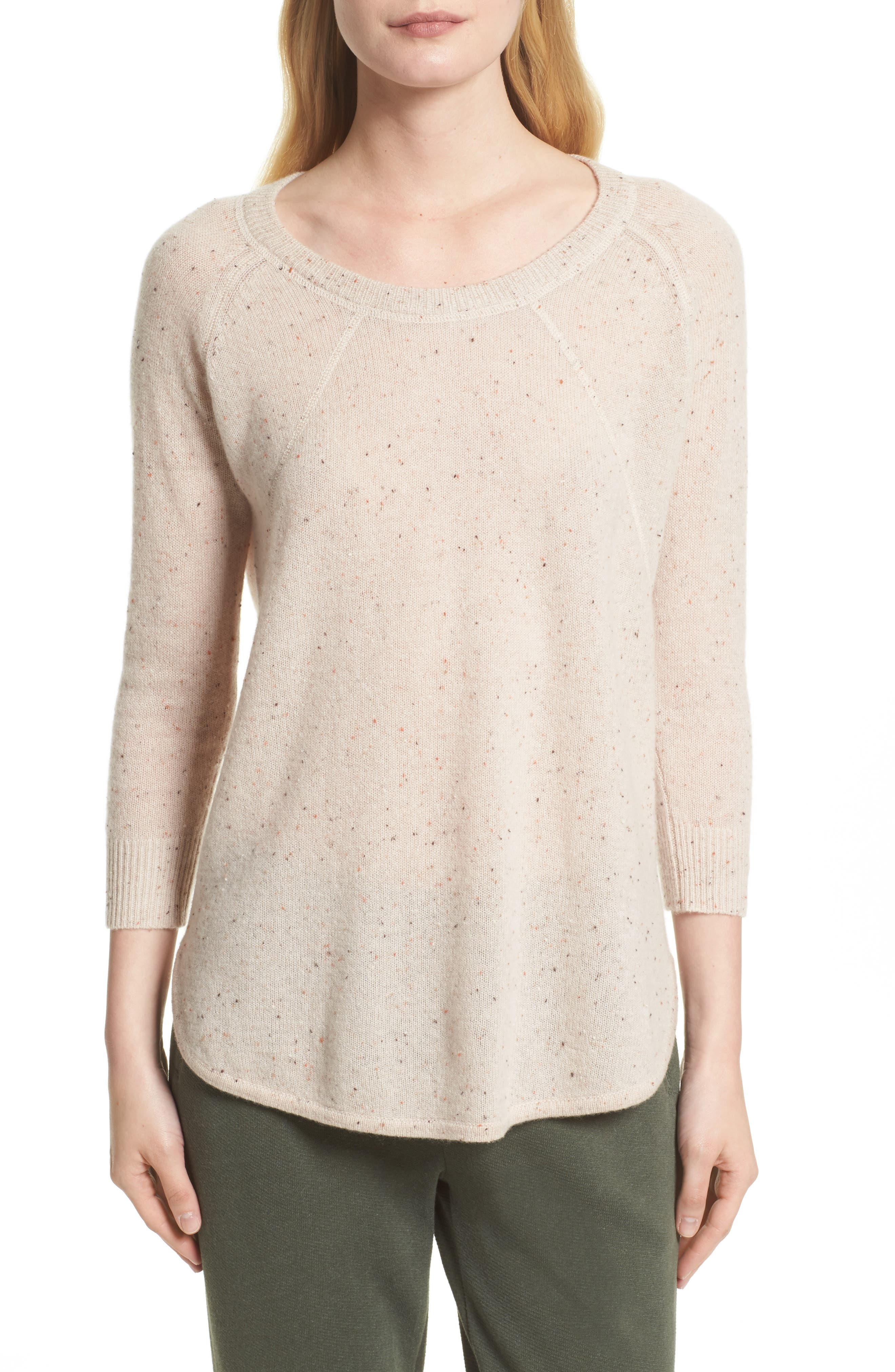 Alternate Image 1 Selected - ATM Anthony Thomas Melillo Cashmere Sweater (Nordstrom Exclusive)