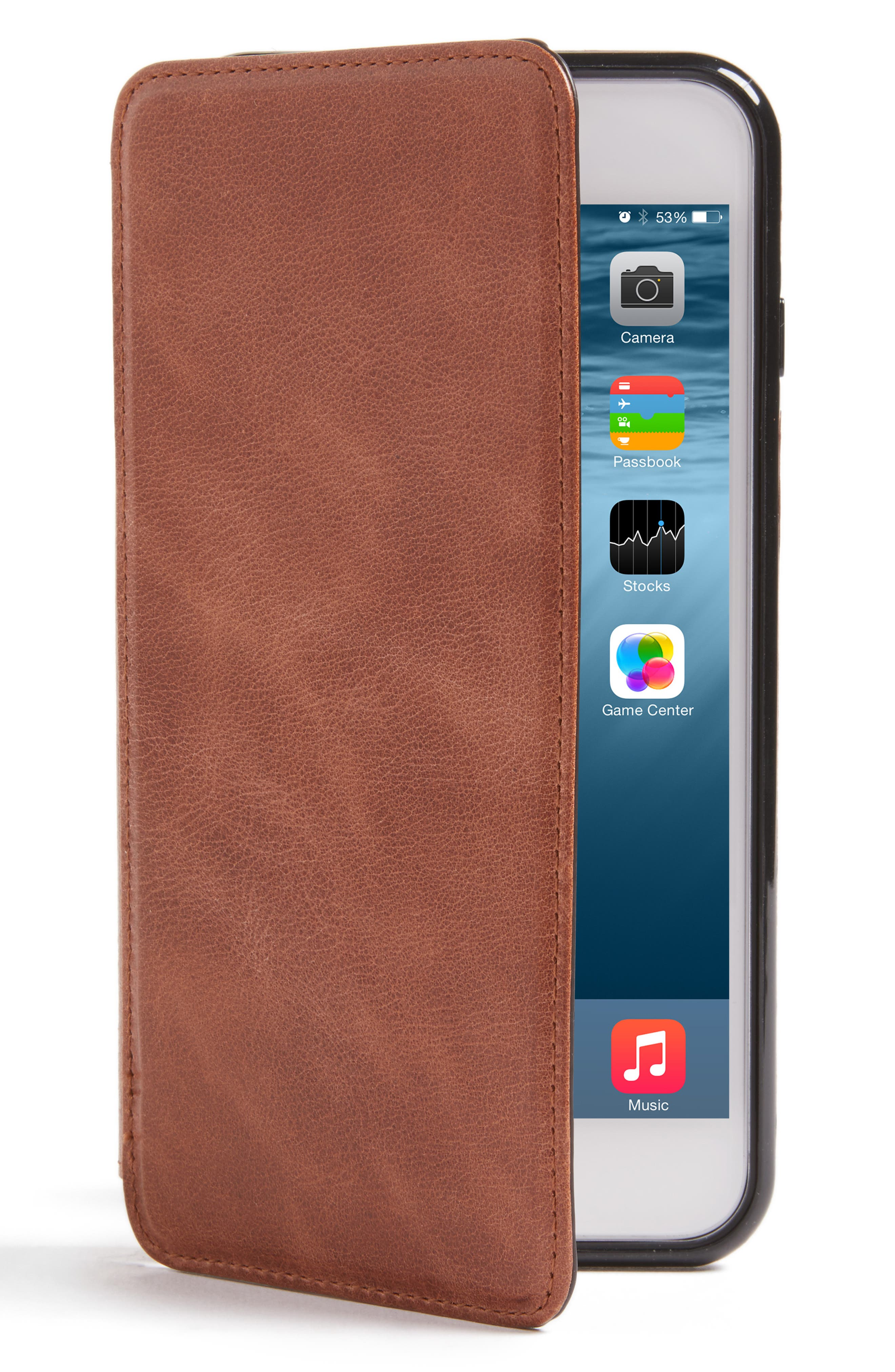 Sena iPhone 7 Plus Leather Wallet Case