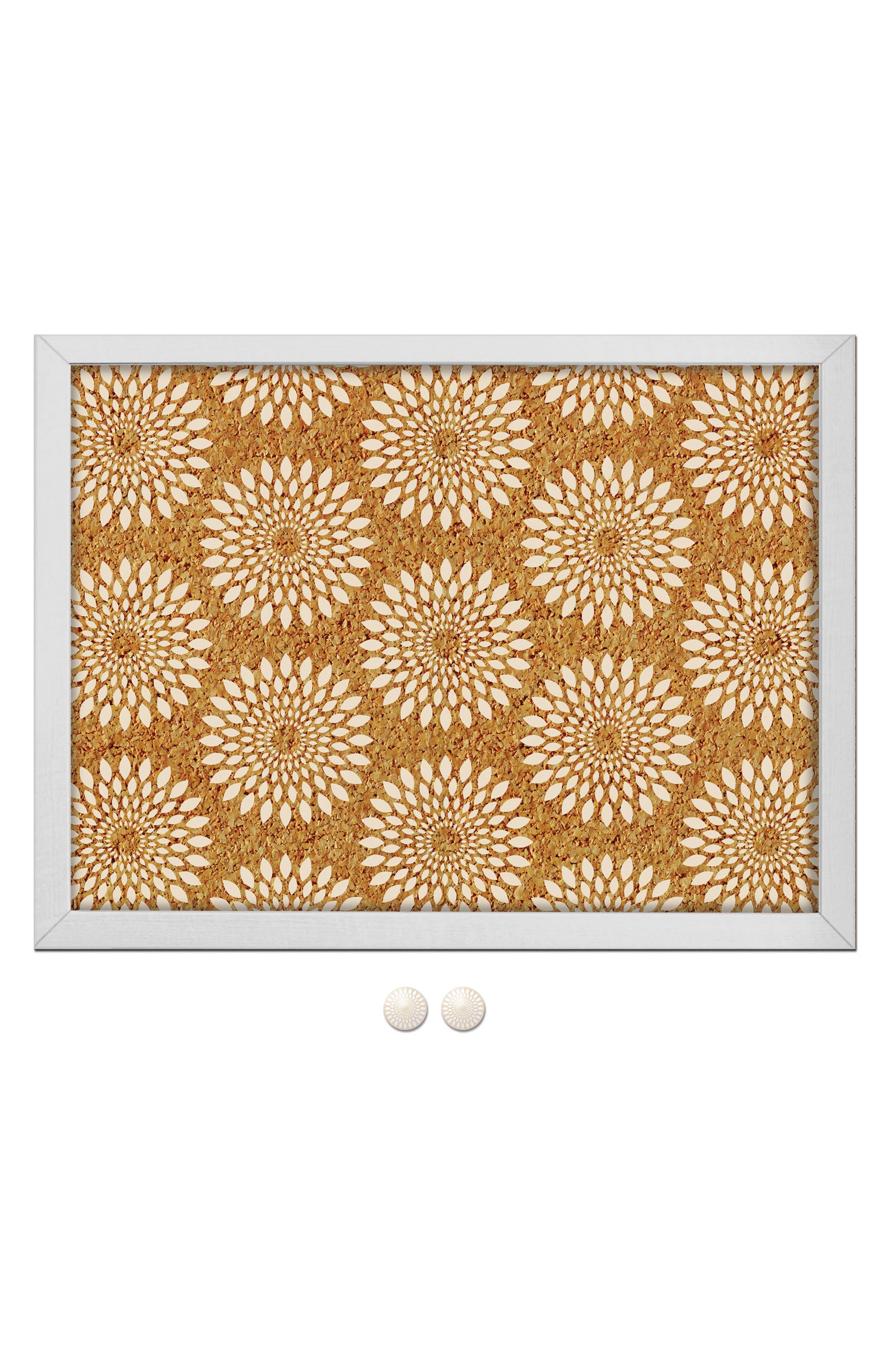 Main Image - Wallpops Catalina Print Cork Board