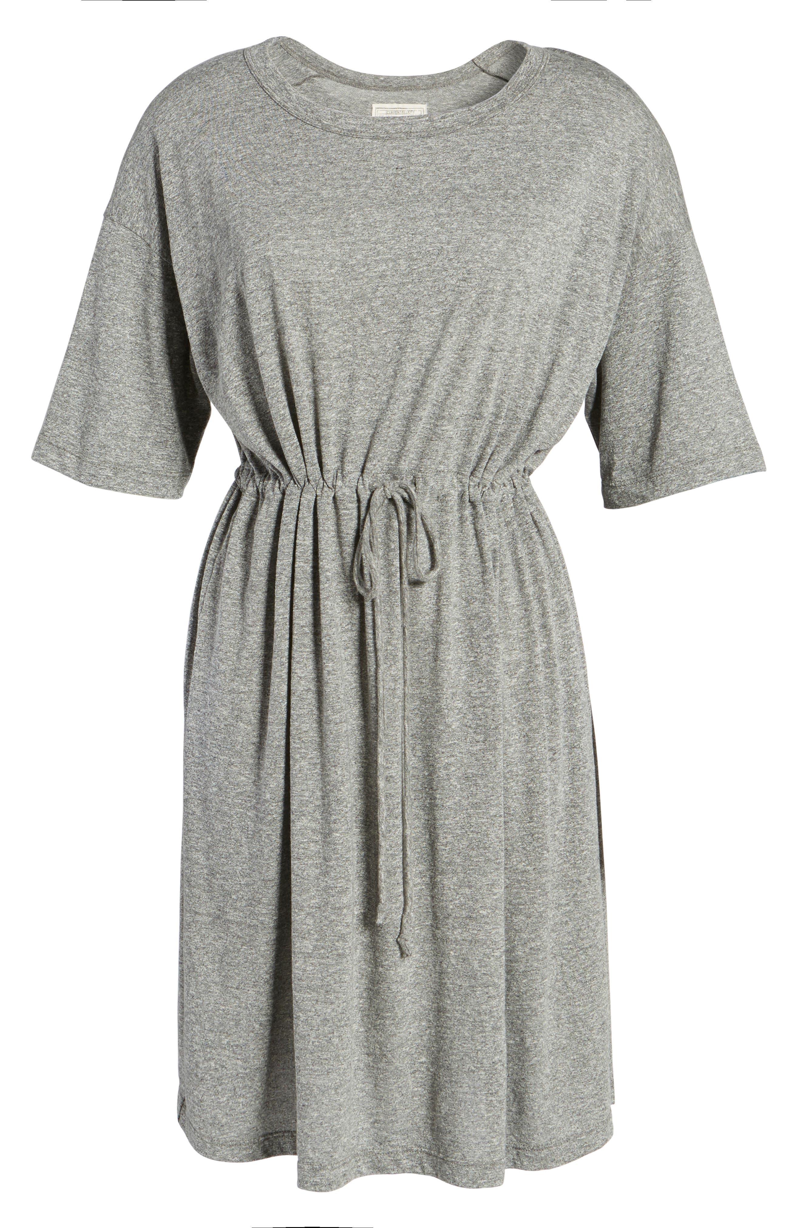 Alternate Image 6  - Current/Elliott Drawstring Waist Shift Dress
