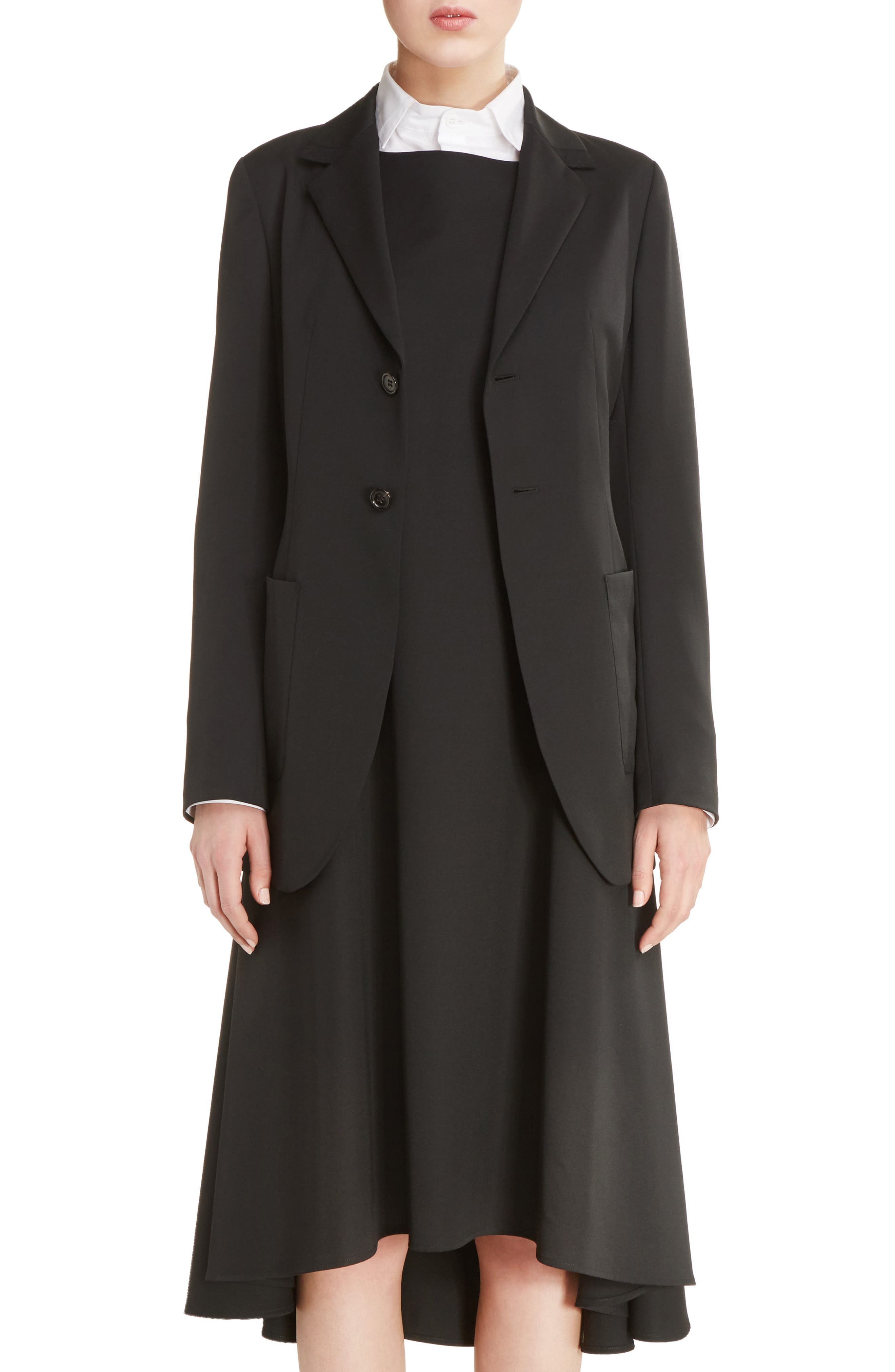 Y's by Yohji Yamamoto U-Out P Tailored Wool Jacket