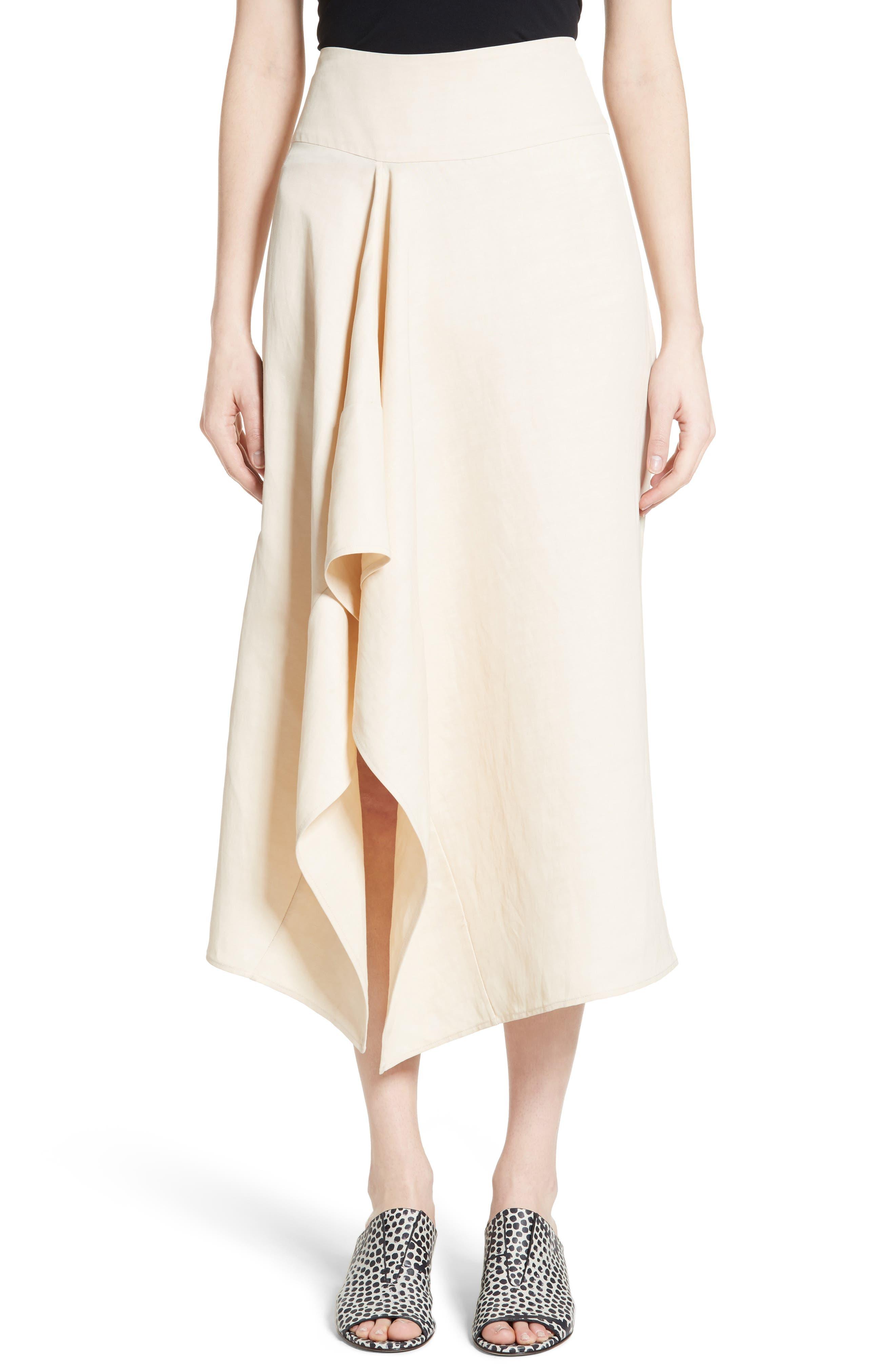 Zero + Maria Cornejo Eros Vintage Toile Skirt