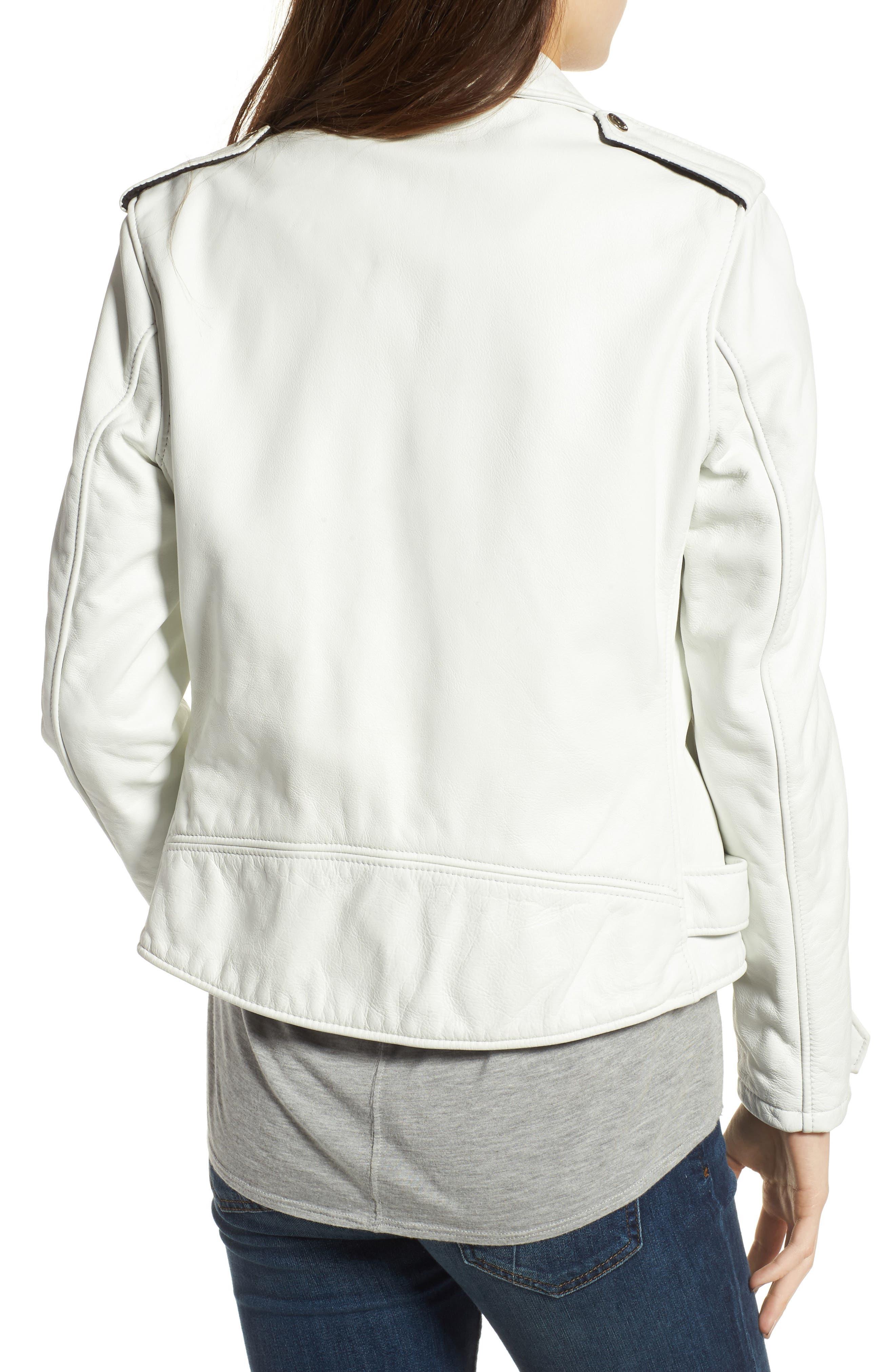 Alternate Image 2  - Schott NYC Boyfriend Leather Jacket