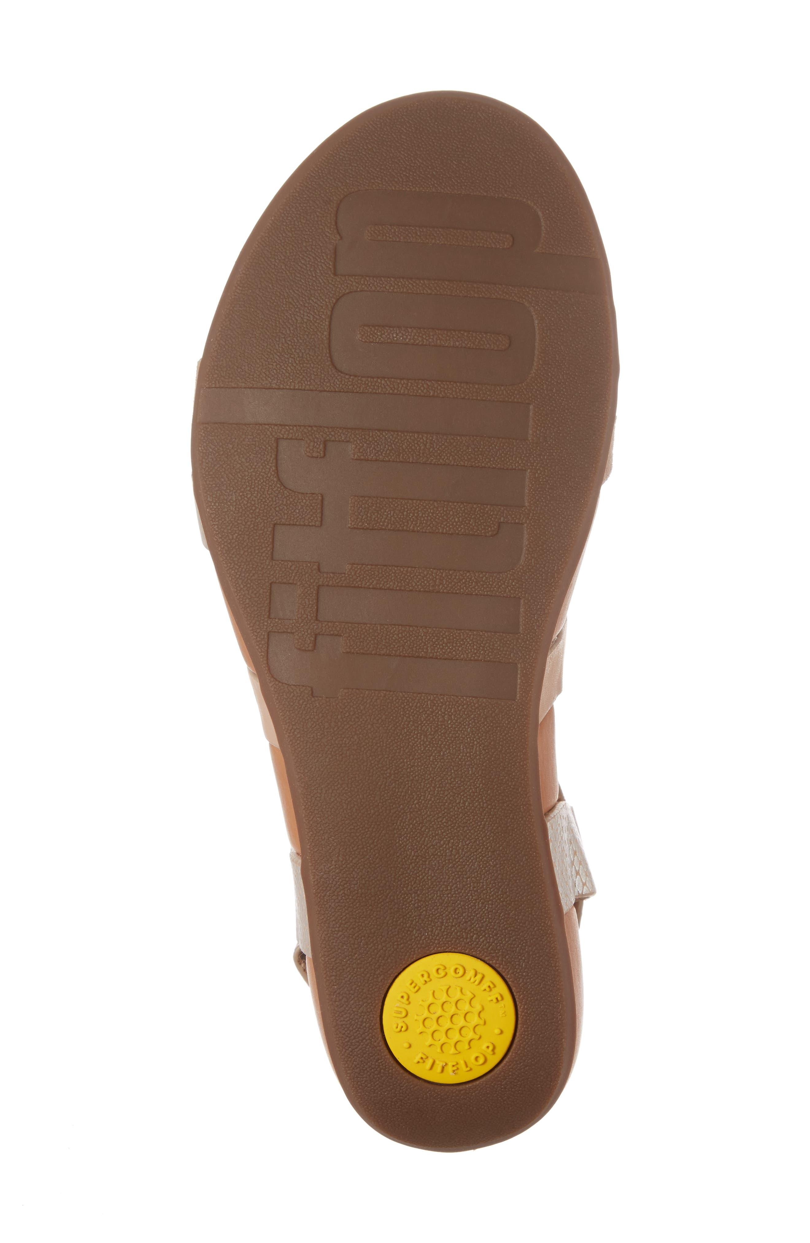 Alternate Image 6  - FitFlop Lumy Crisscross Sandal (Women)