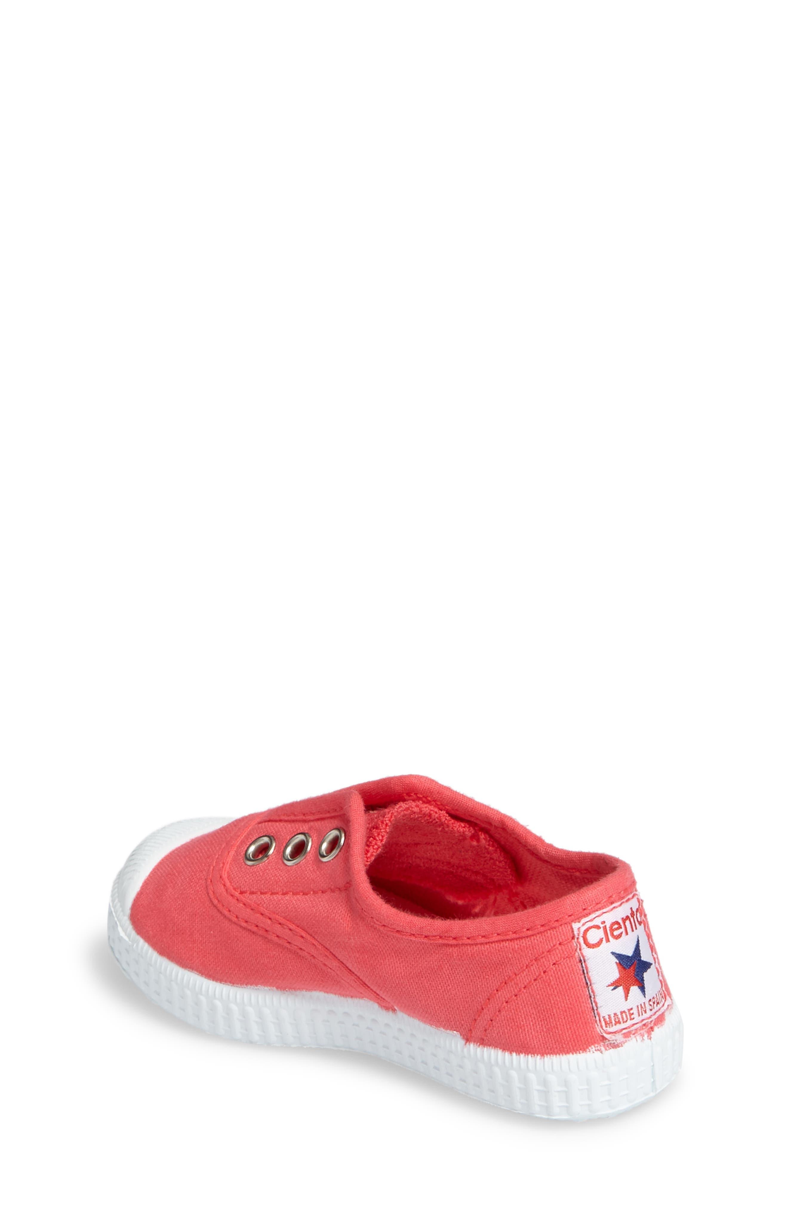 Alternate Image 2  - Cienta Laceless Slip-On Sneaker (Walker & Toddler)
