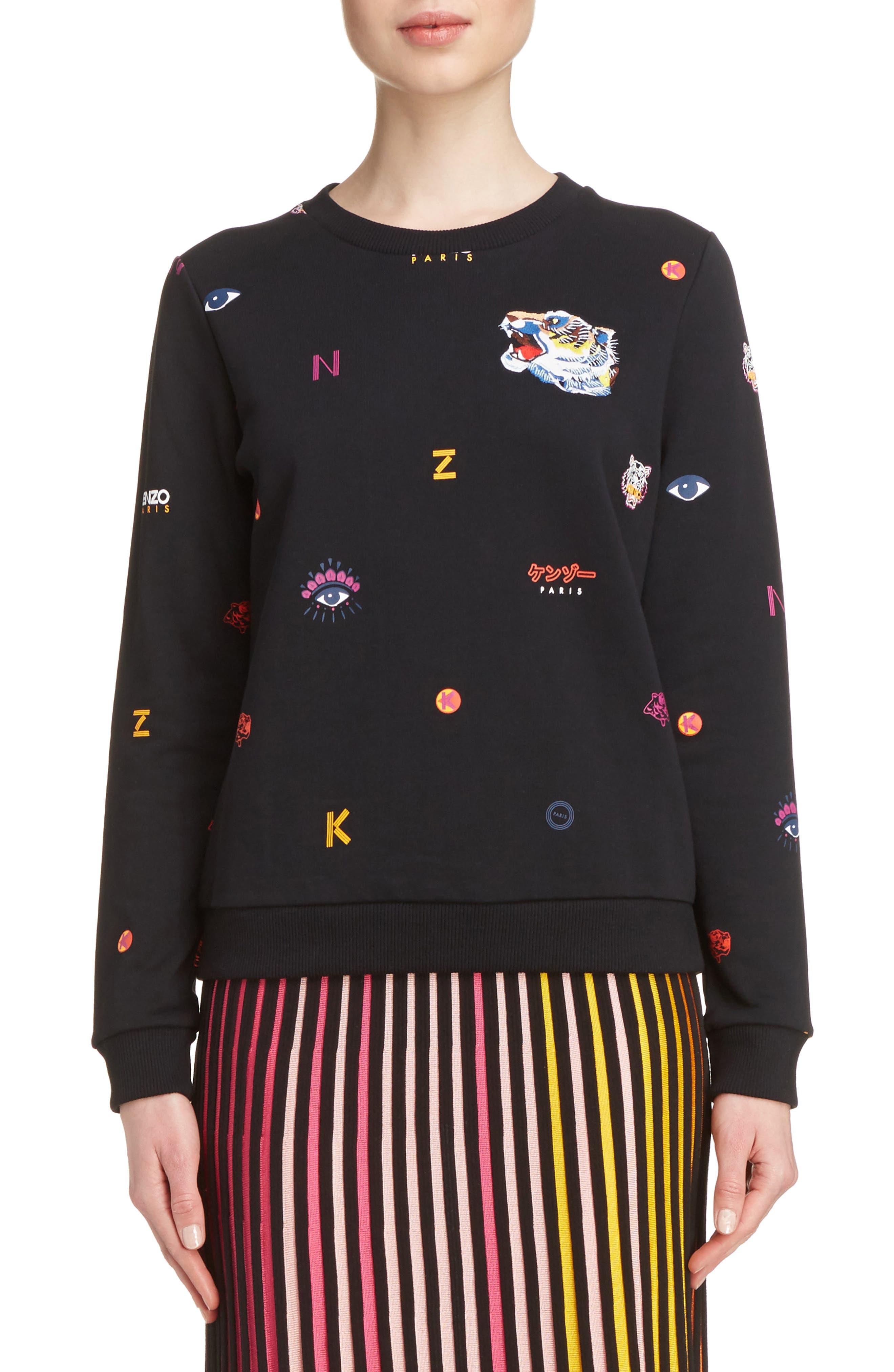 KENZO Multi Icons Sweatshirt