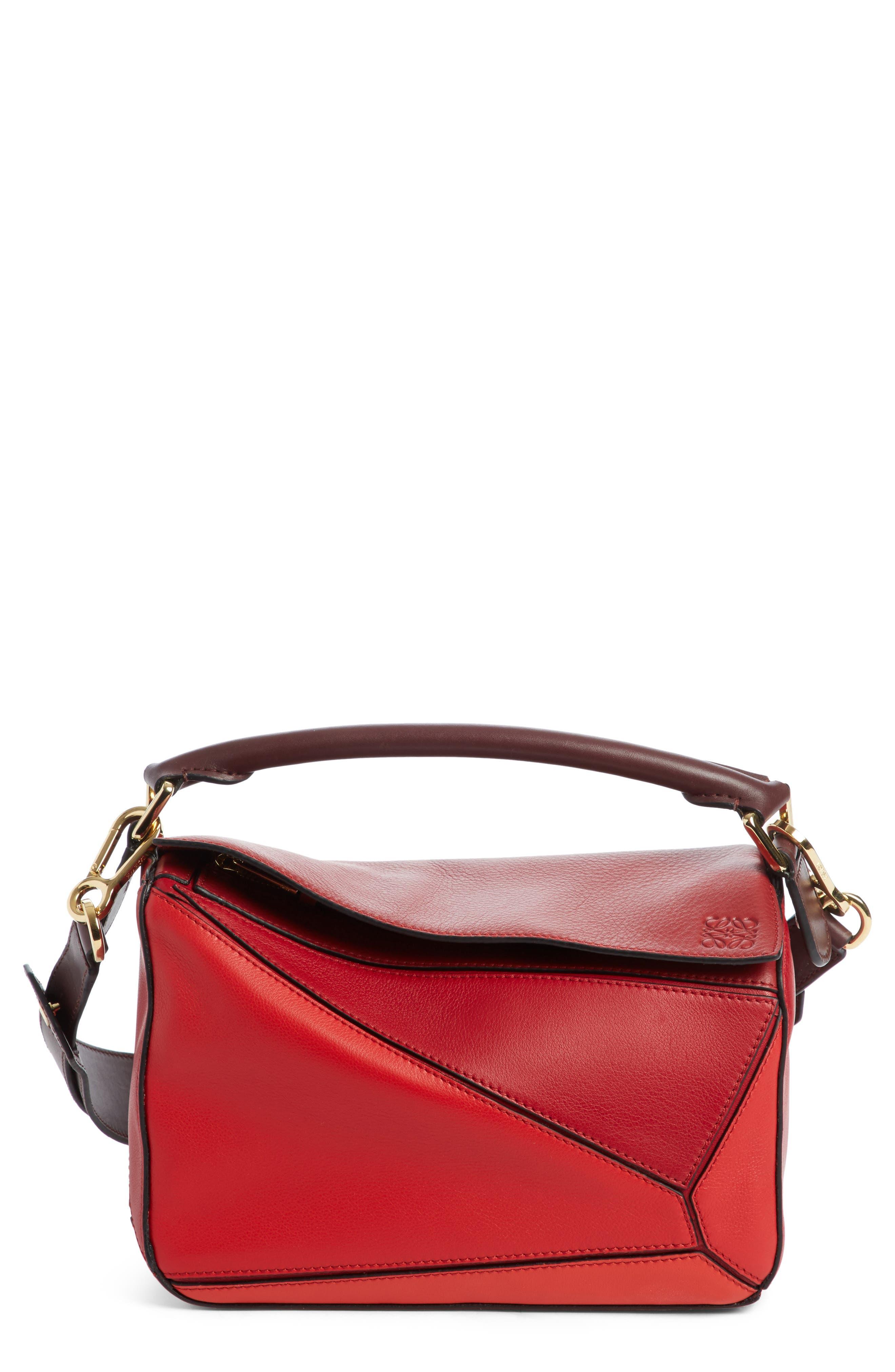 Loewe Small Colorblock Puzzle Bag