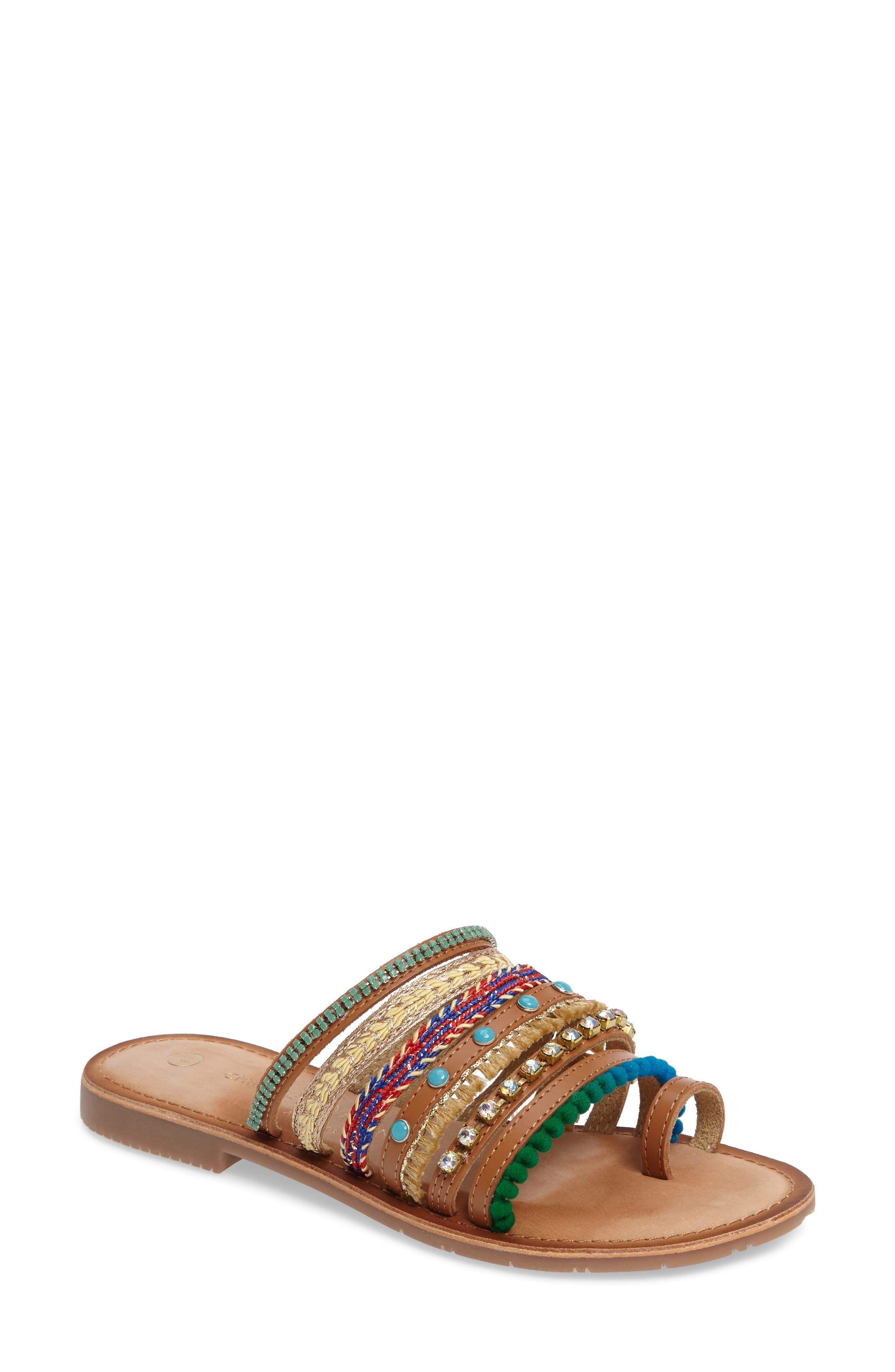 Chinese Laundry Palma Embellished Sandal (Women)