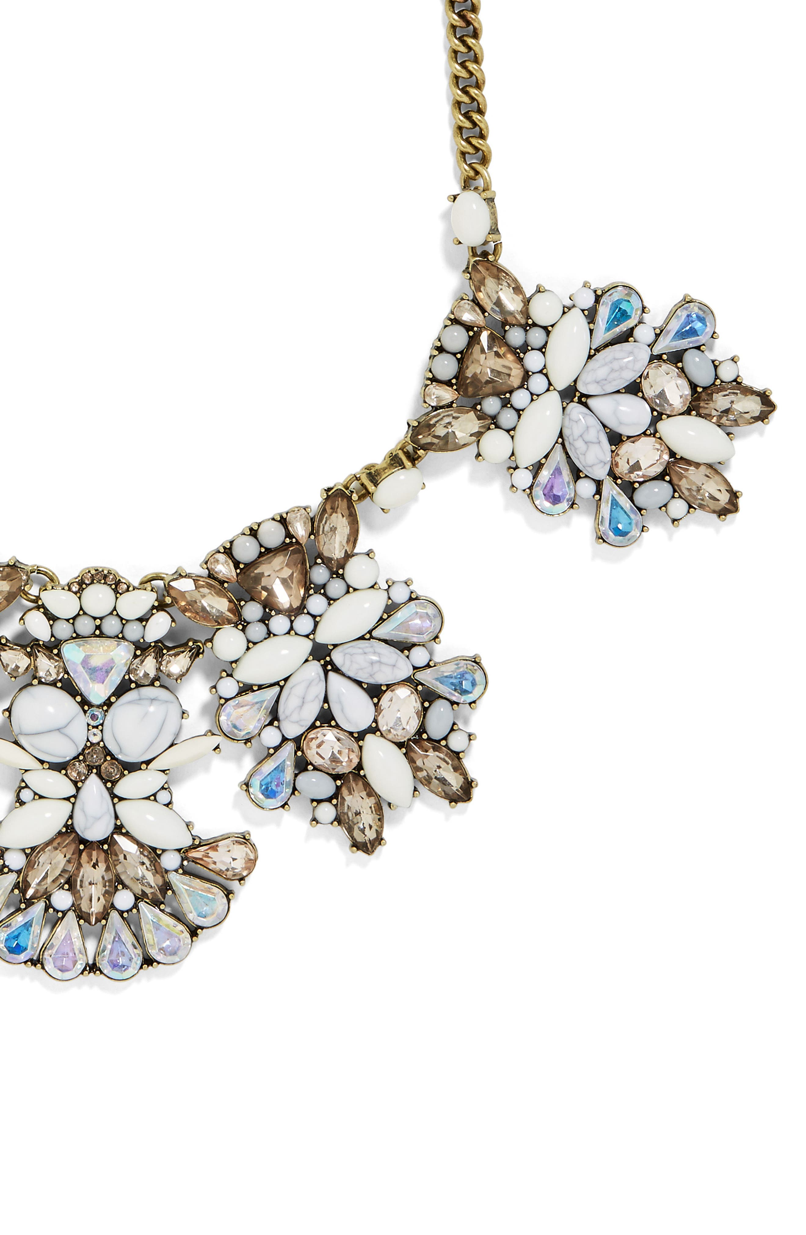 Alternate Image 3  - BaubleBar Daisy Bib Necklace