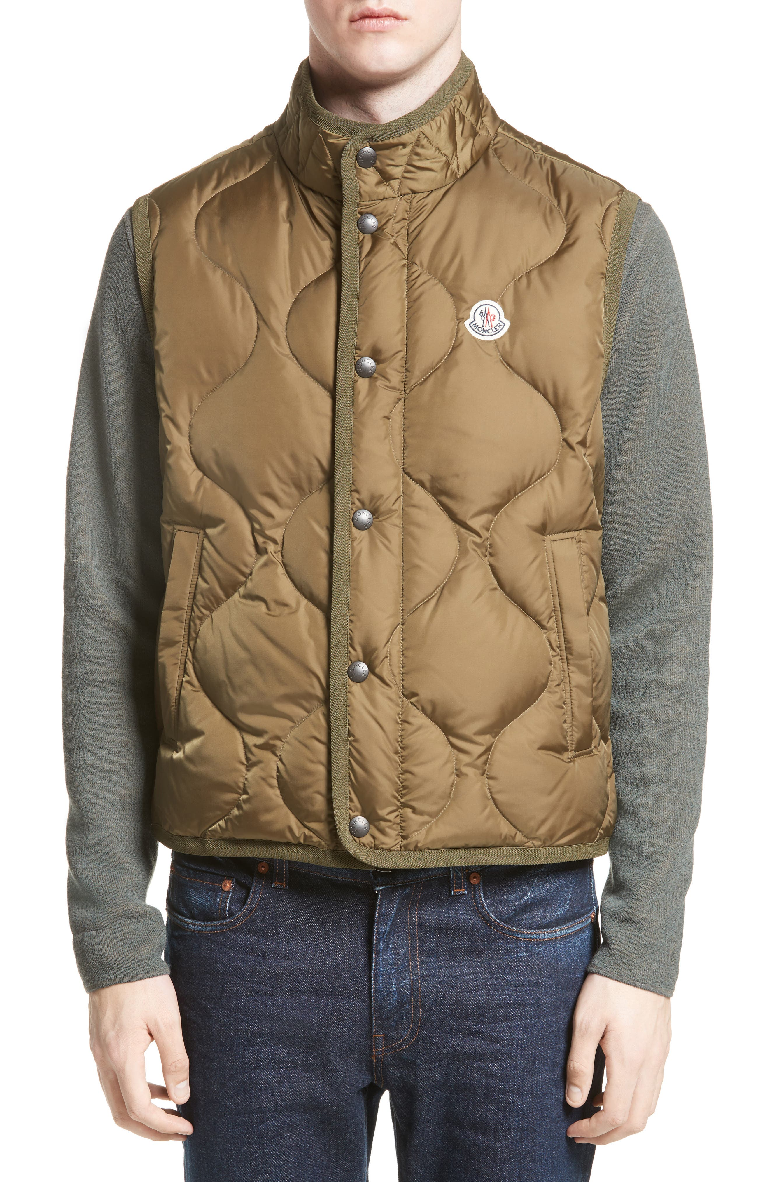 MONCLER Canut High Neck Down Vest