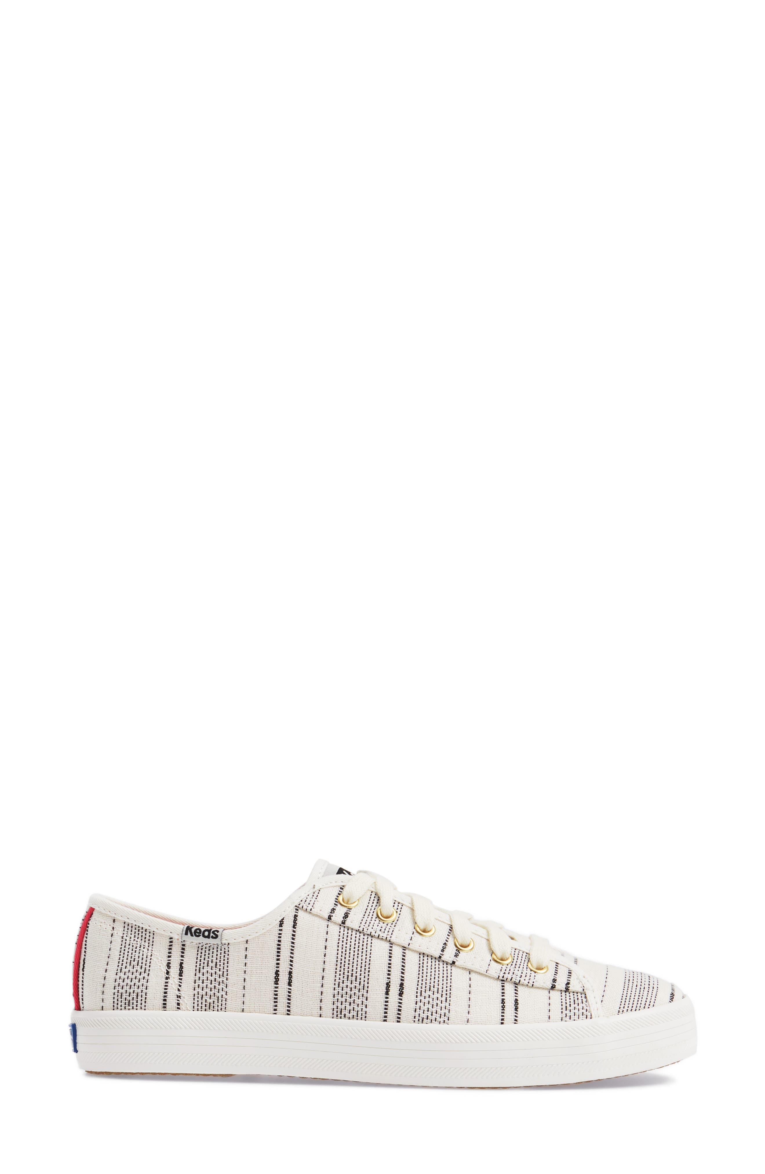 Kickstart Baja Stripe Sneaker,                             Alternate thumbnail 3, color,                             Cream