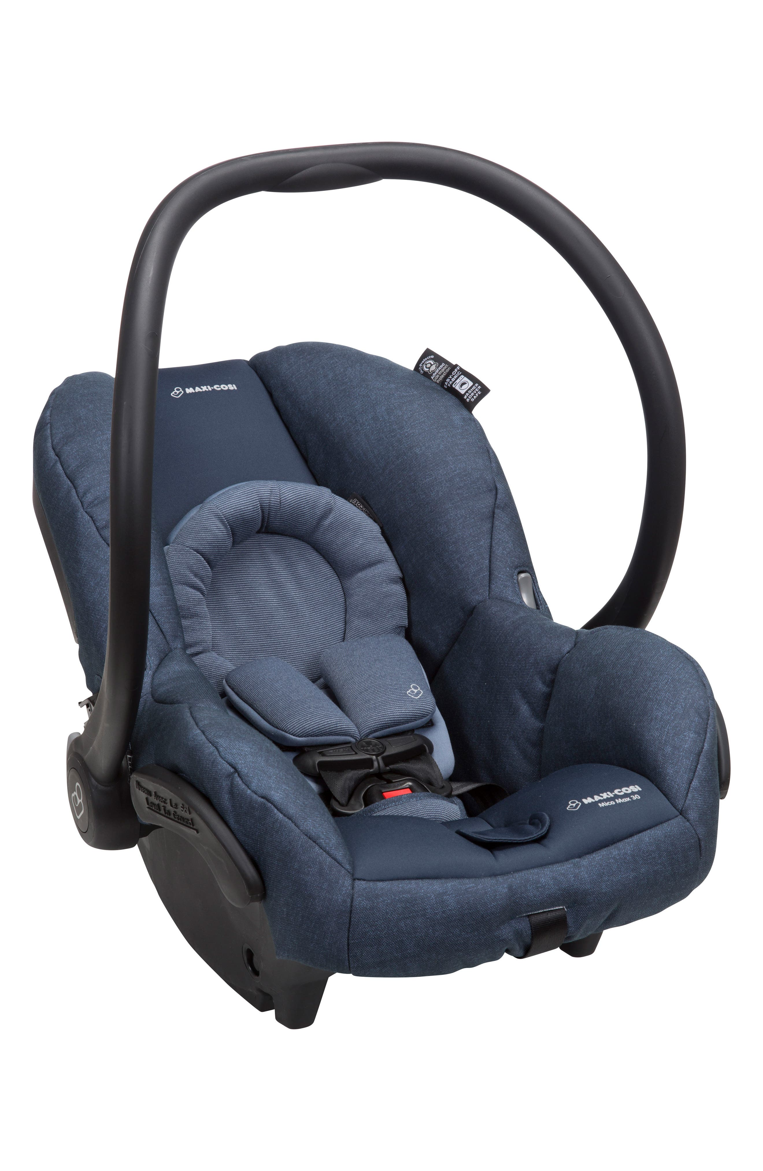 Mico Max 30 Nomad Collection Infant Car Seat,                             Alternate thumbnail 5, color,                             Nomad Blue