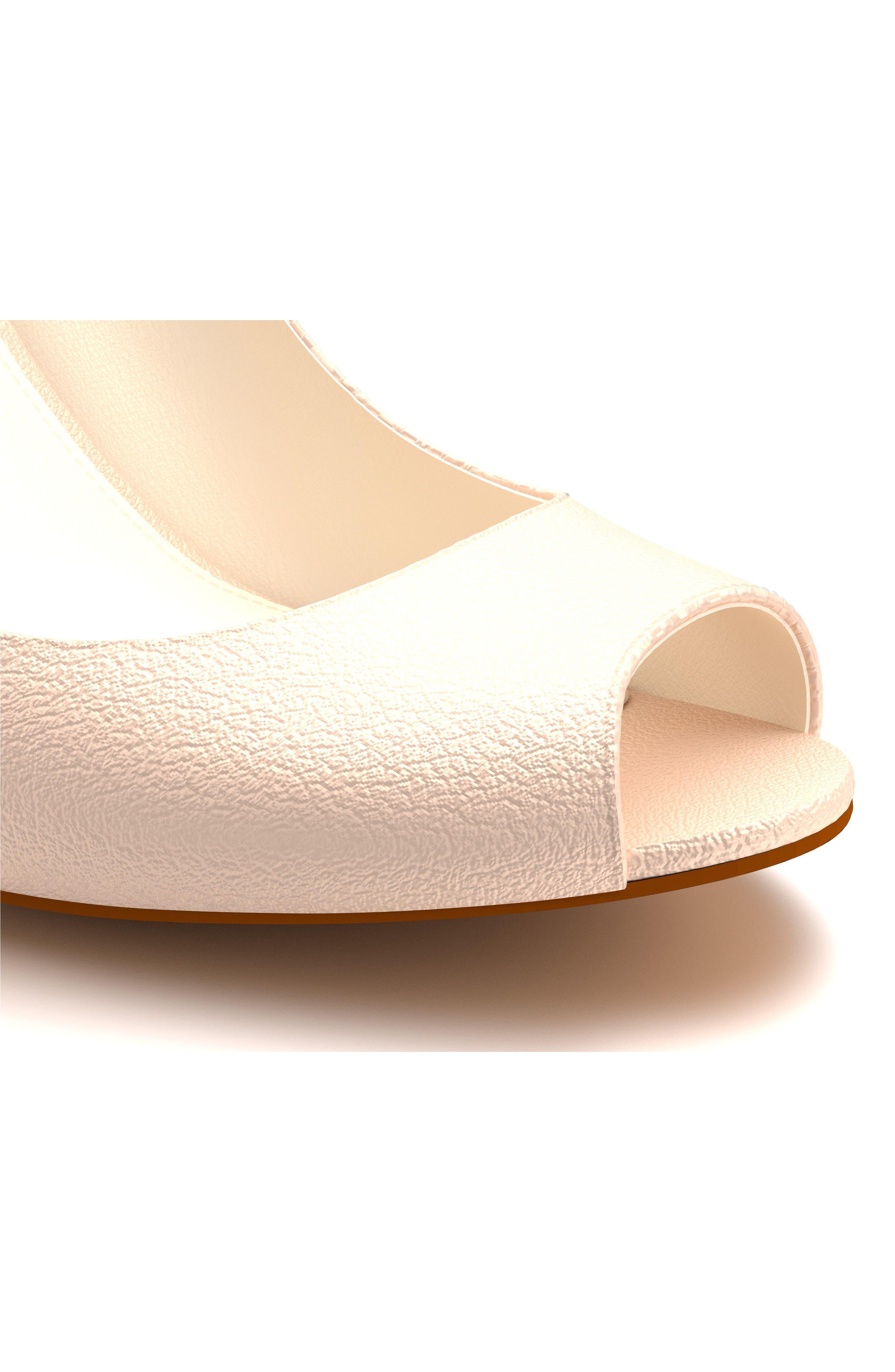 Alternate Image 6  - Shoes of Prey Peep Toe Pump (Women)