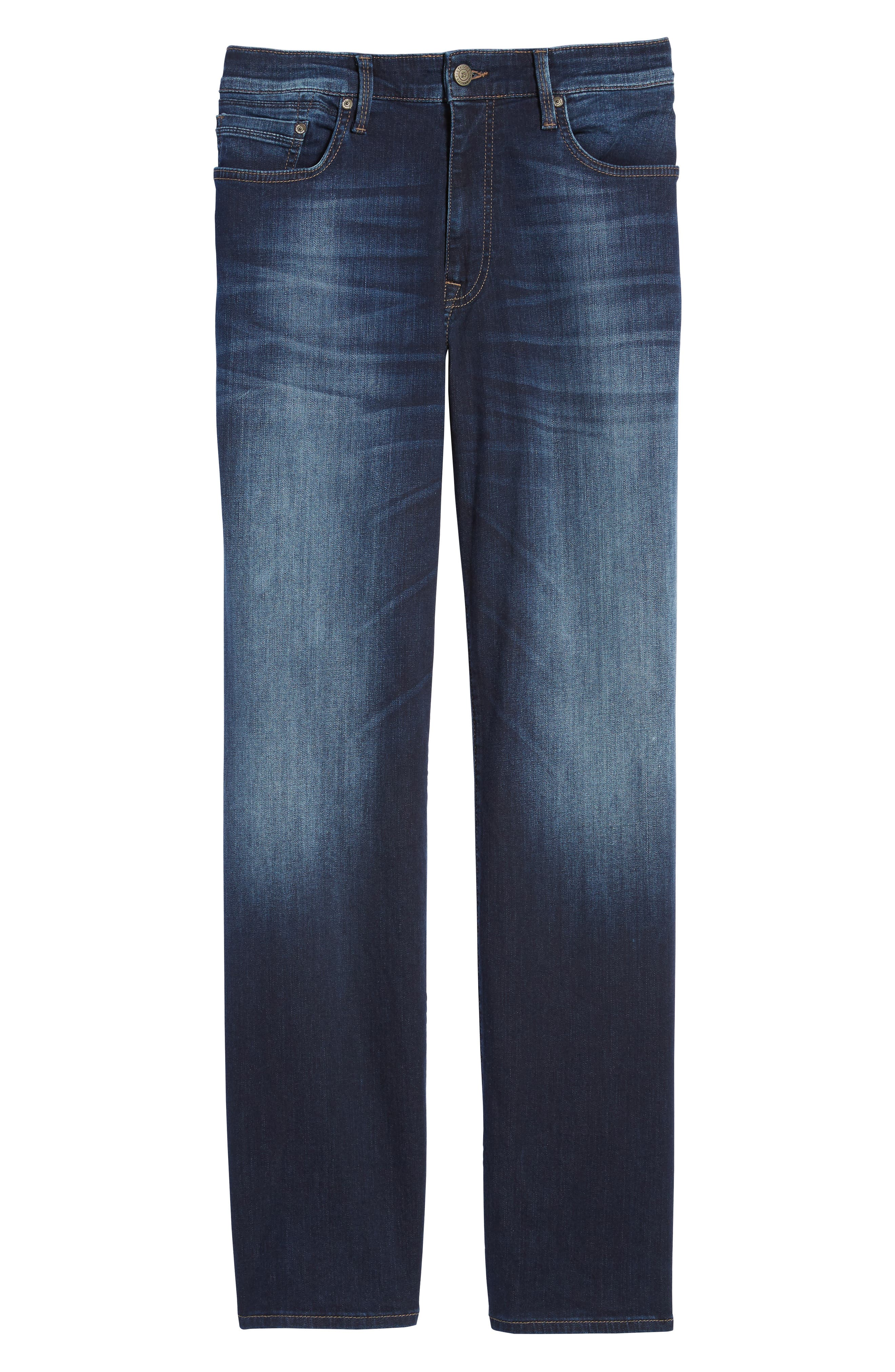 'Max' Relaxed Fit Jeans,                             Alternate thumbnail 6, color,                             Dark Williamsburg