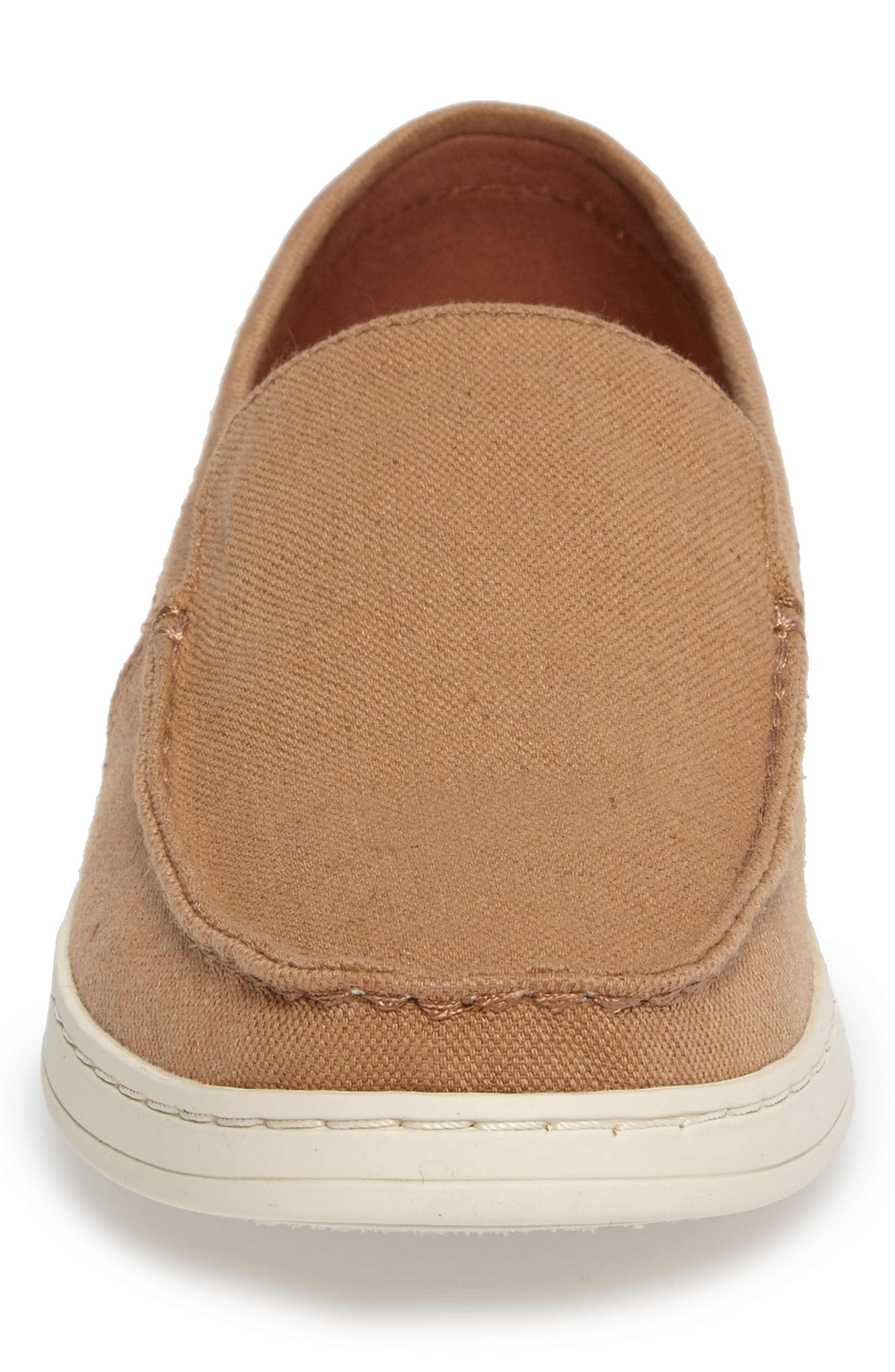 Aiden Slip-On Loafer,                             Alternate thumbnail 4, color,                             Toffee