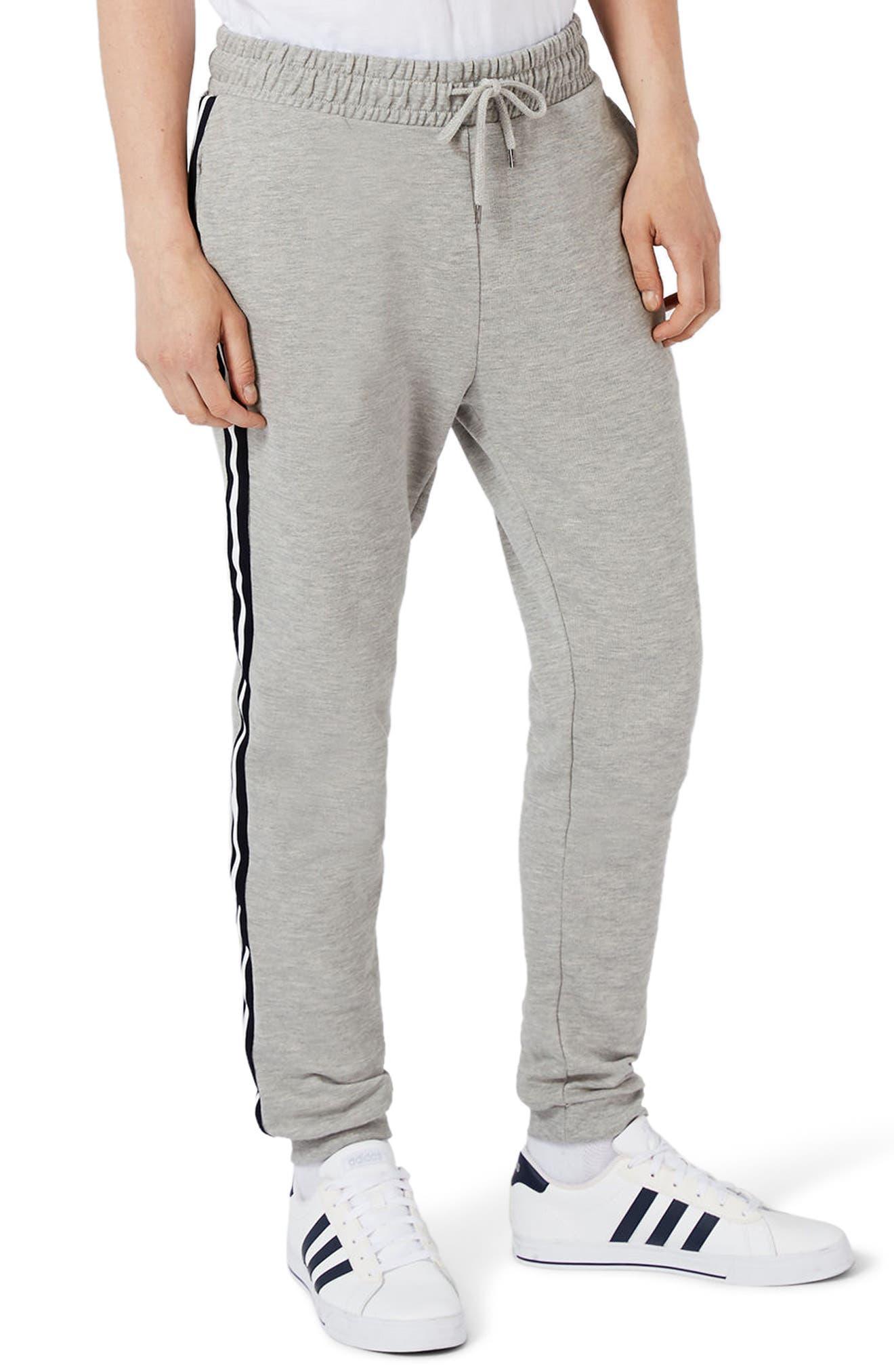 Topman Stripe Taped Sweatpants