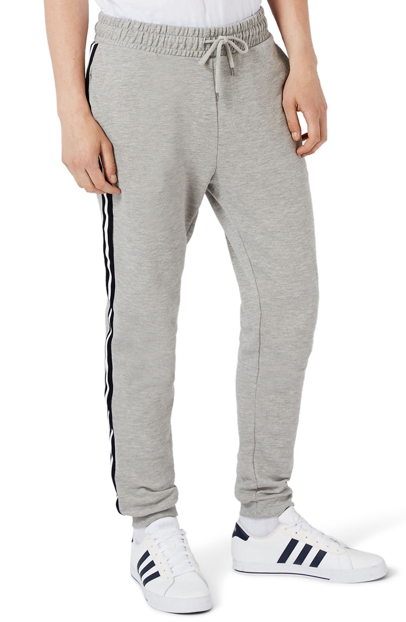 Topman Stripe Taped Sweatpants