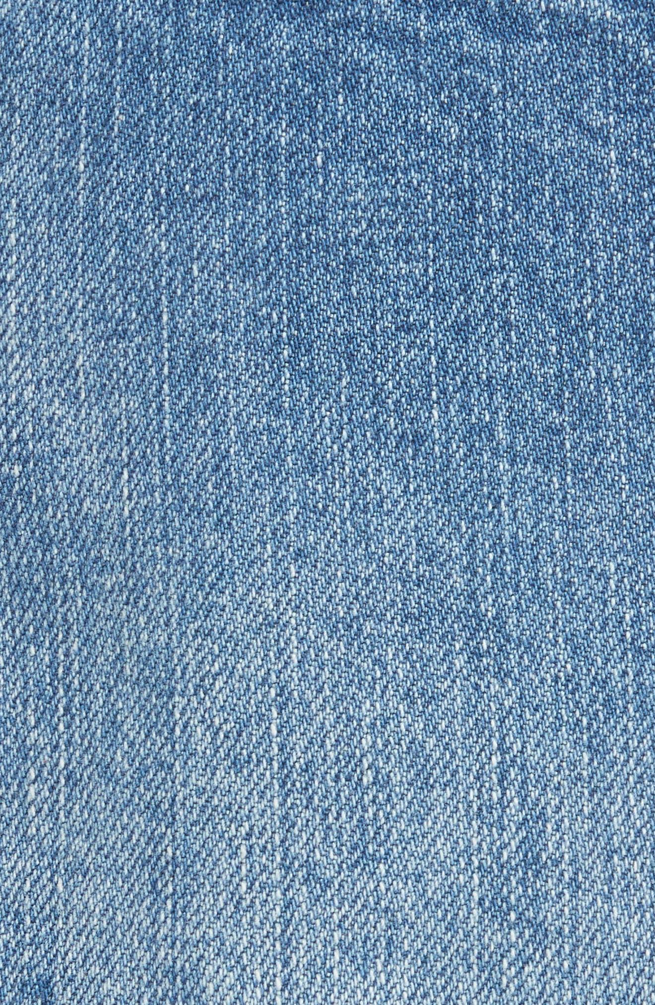 Alternate Image 5  - Free People Wild Rose Embroidered Miniskirt
