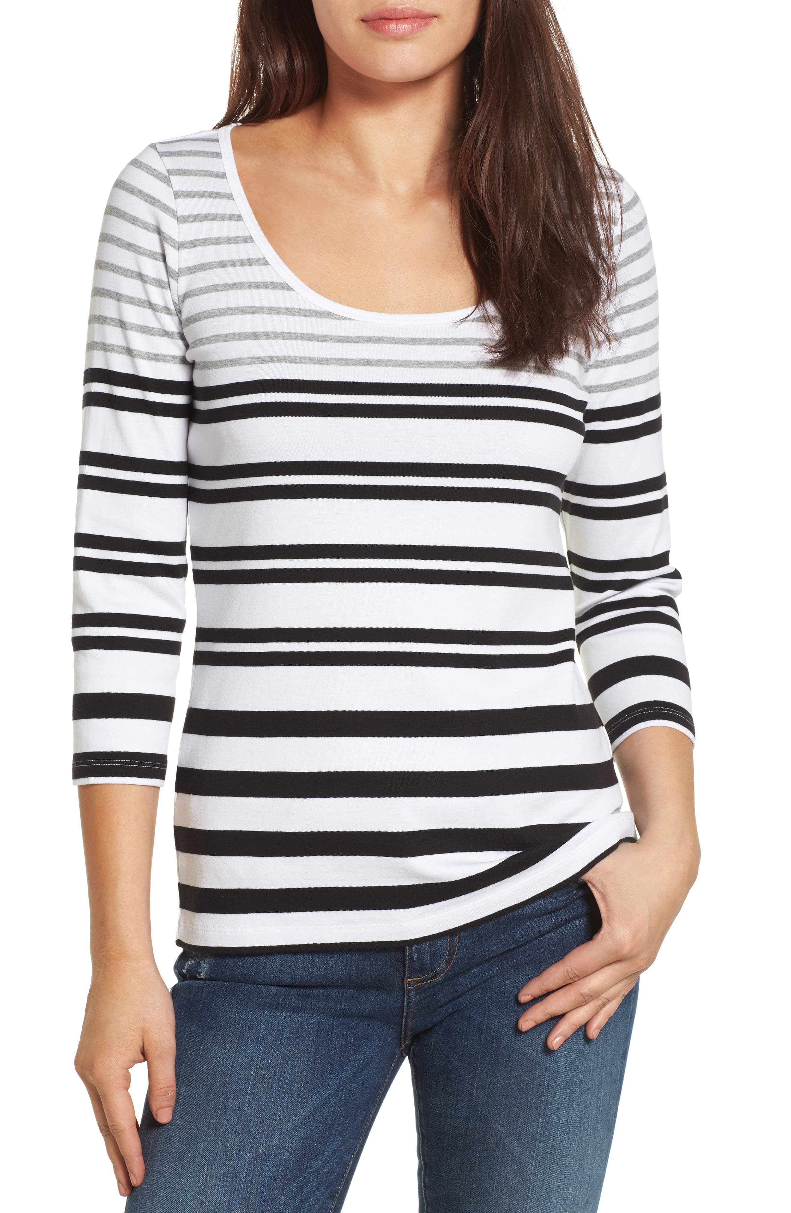 Tommy Bahama Indio Sedaris Stripe Cotton Tee
