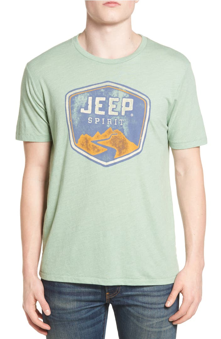 Lucky brand jeep spirit graphic t shirt nordstrom for Graphic t shirt shop
