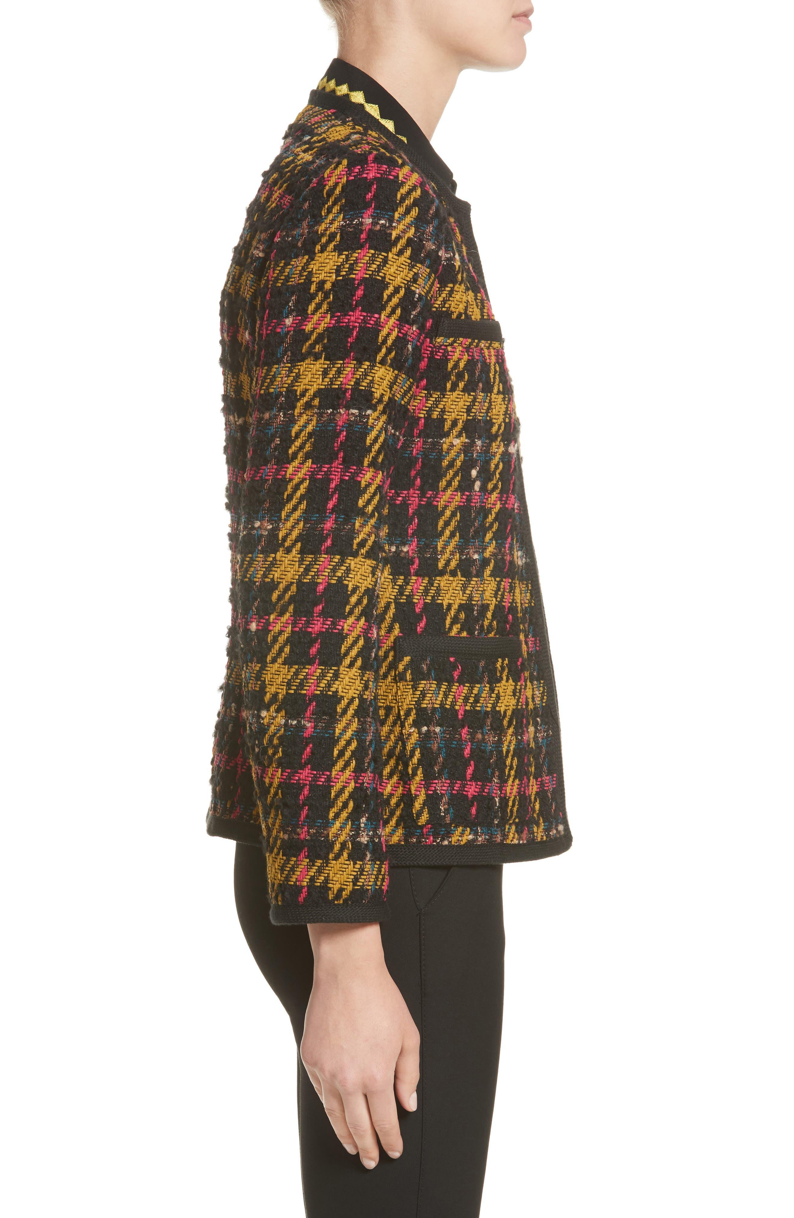 Alternate Image 5  - Etro Plaid Jacket