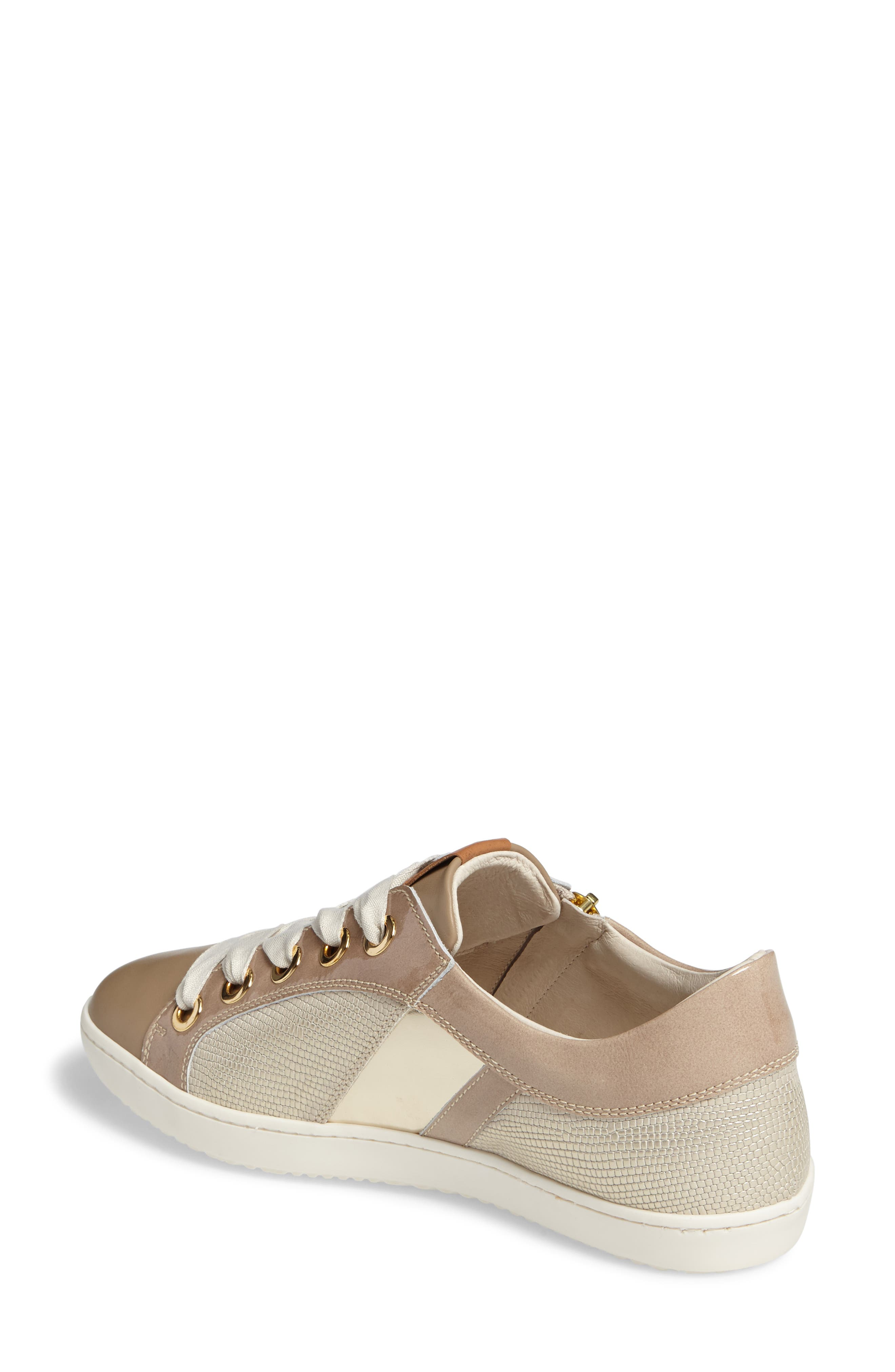 May Sneaker,                             Alternate thumbnail 2, color,                             Nude/ Platino Leather