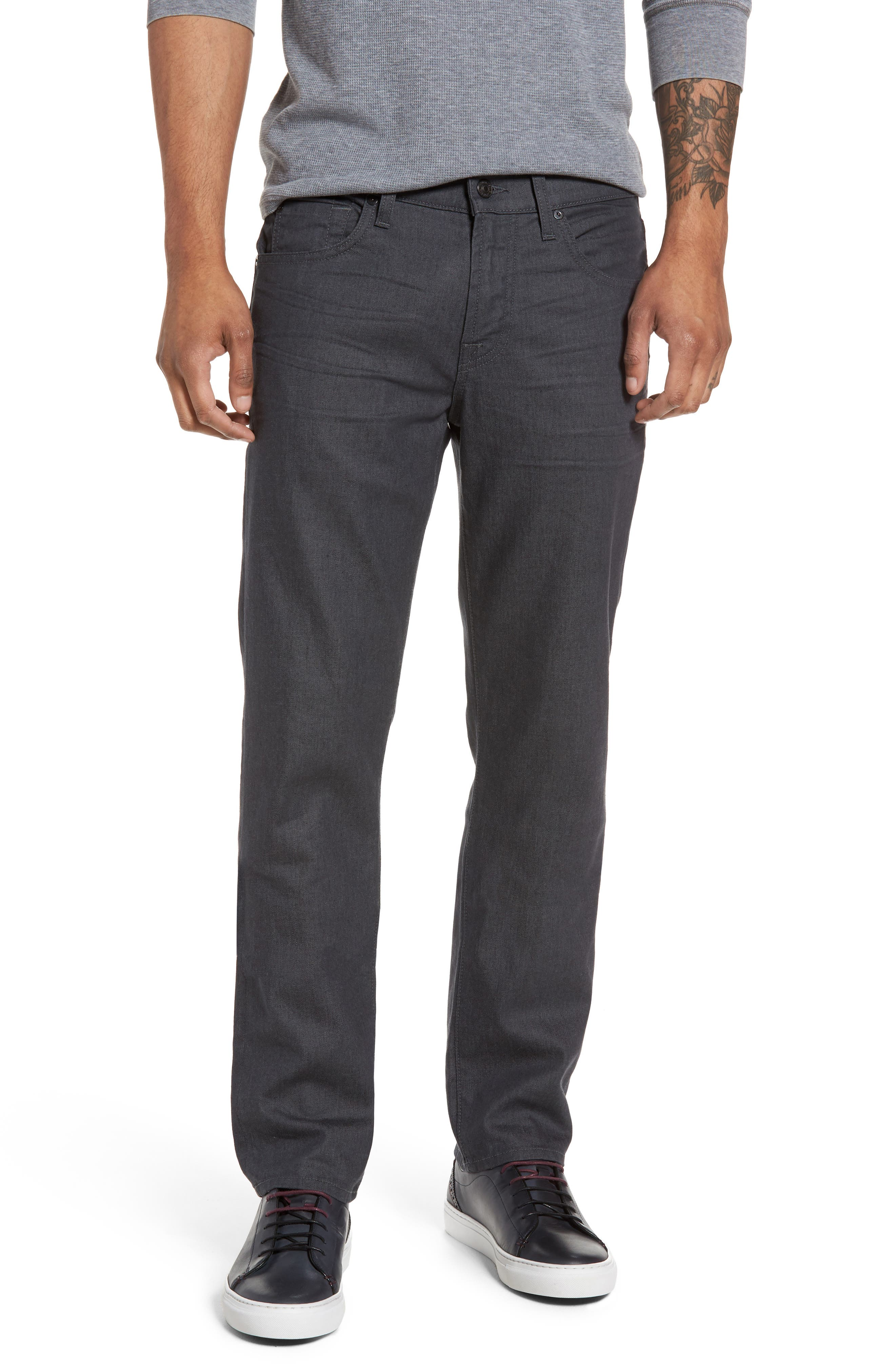 7 For All Mankind® Slimmy Slim Fit Jeans (Sounder Grey)