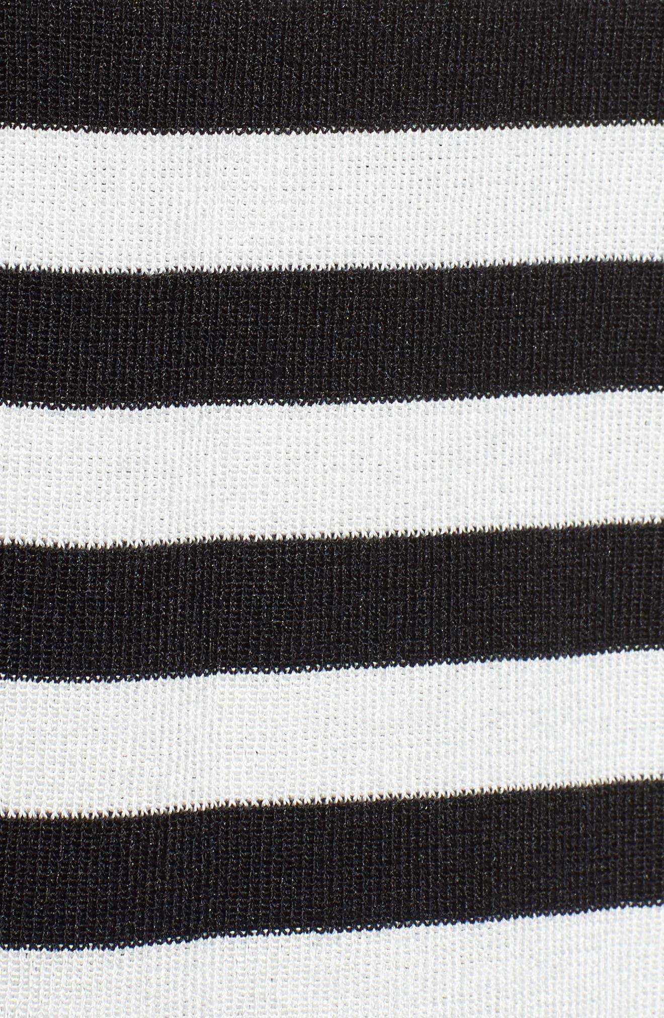 Alternate Image 5  - Anne Klein Malibu Stripe Cardigan