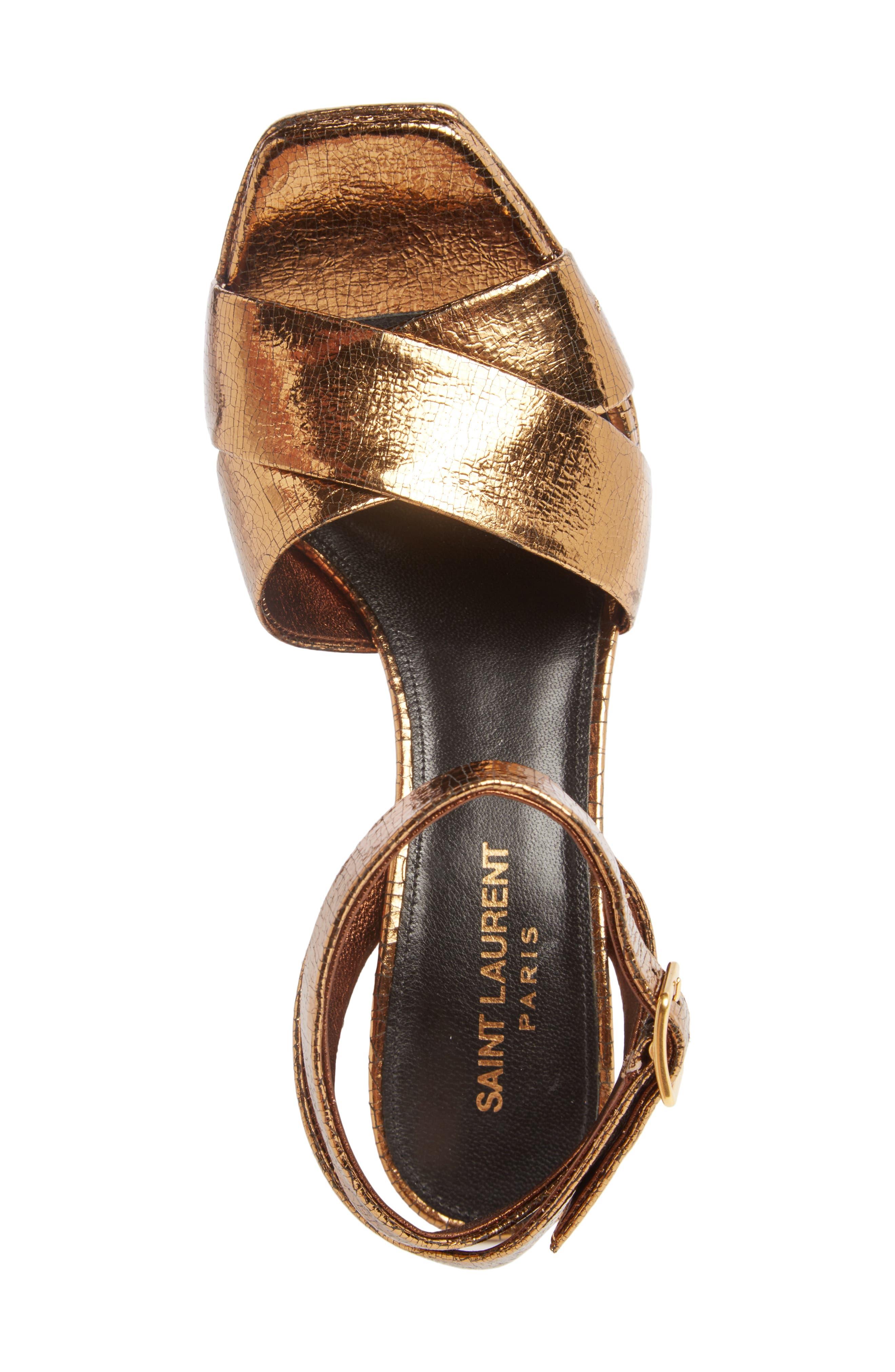 Alternate Image 3  - Saint Laurent Farrah Platform Sandal (Women)
