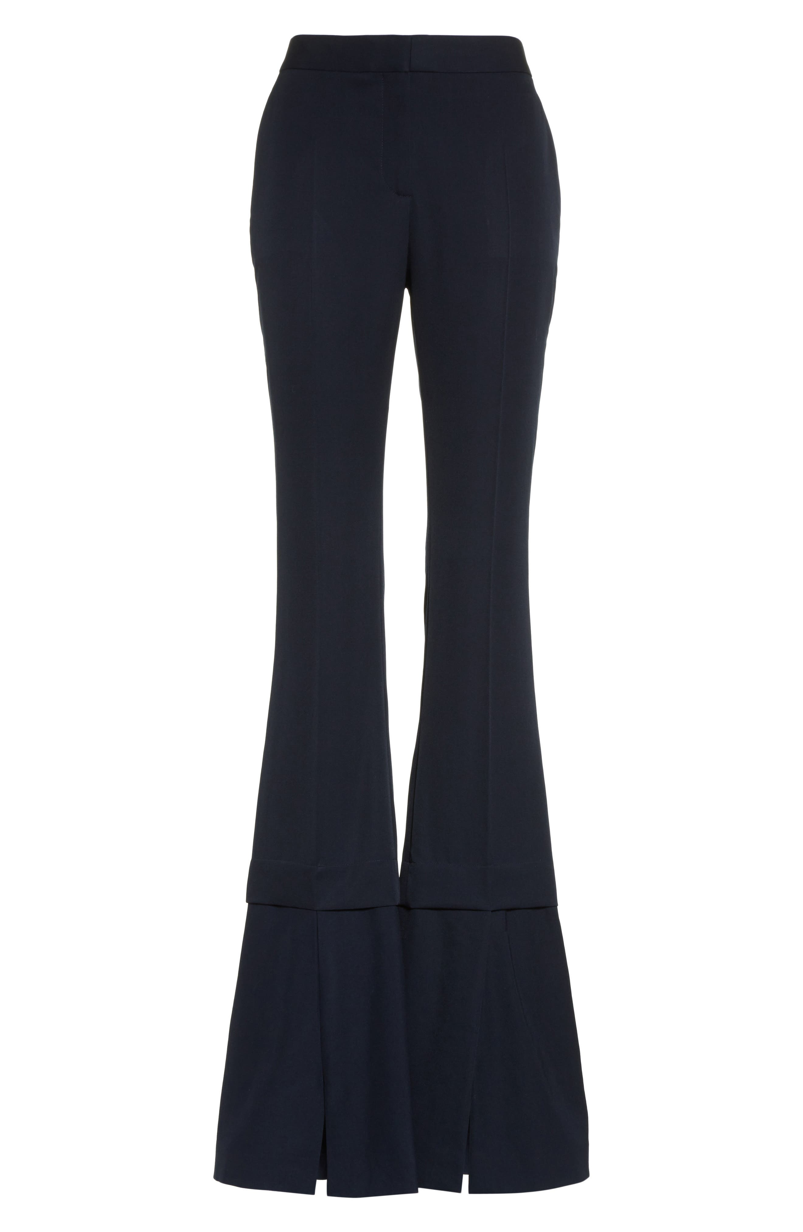 Alternate Image 4  - Stella McCartney Split Hem Flare Trousers