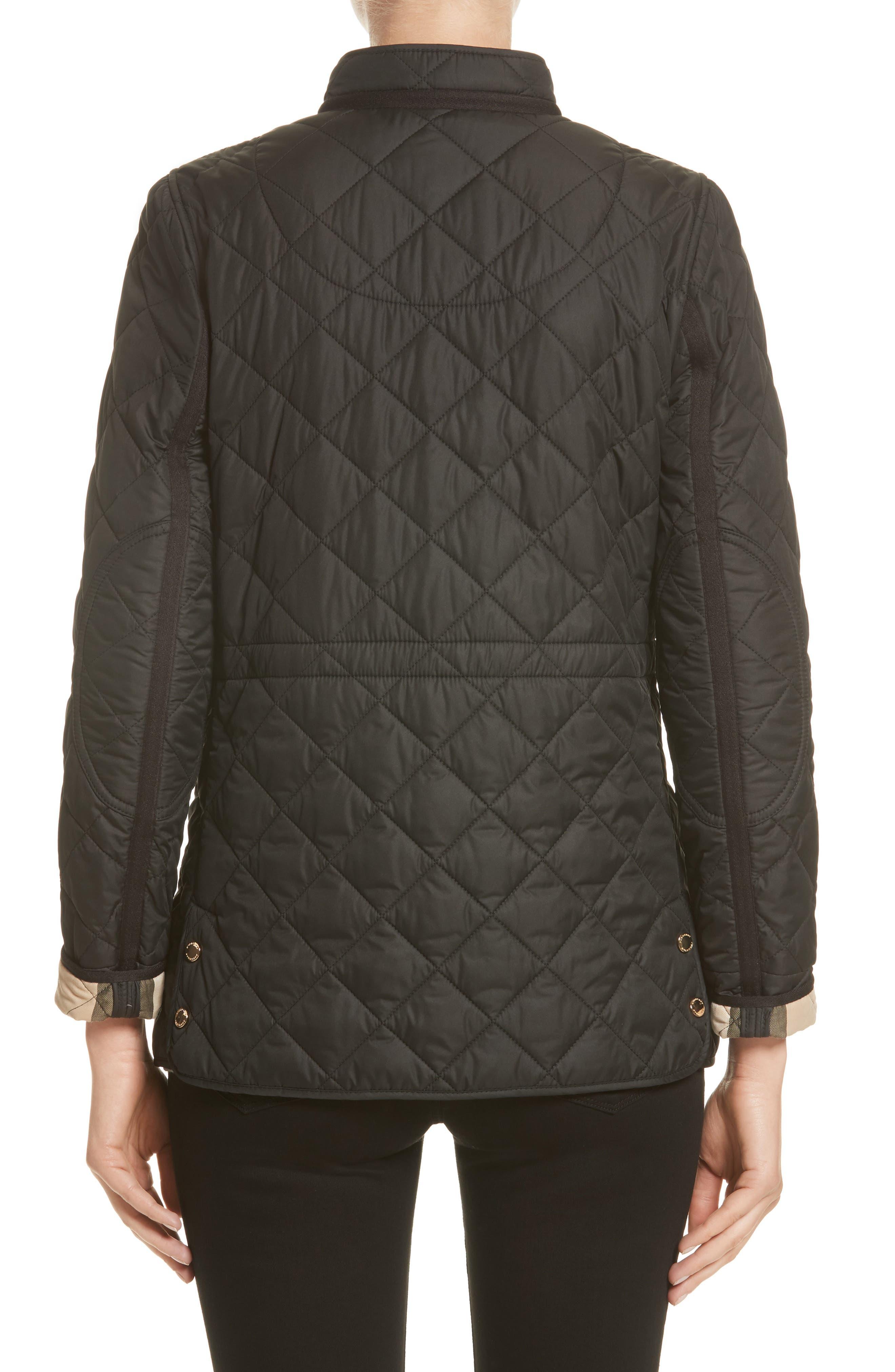 Alternate Image 2  - Burberry Pensham Quilted Jacket (Nordstrom Exclusive)