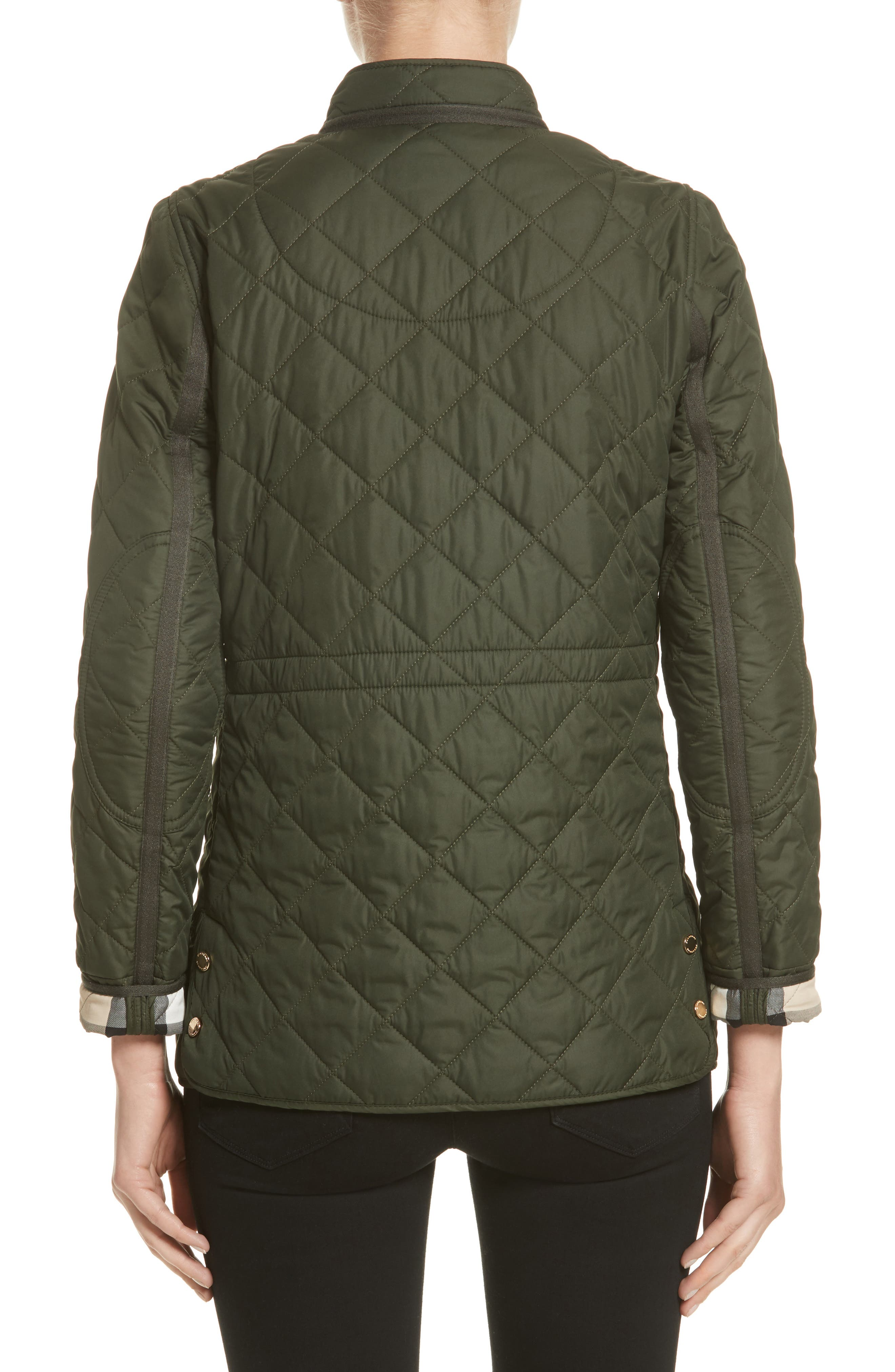 Alternate Image 2  - Burberry Pensham Quilted Jacket (Nordstrom Exclusive)