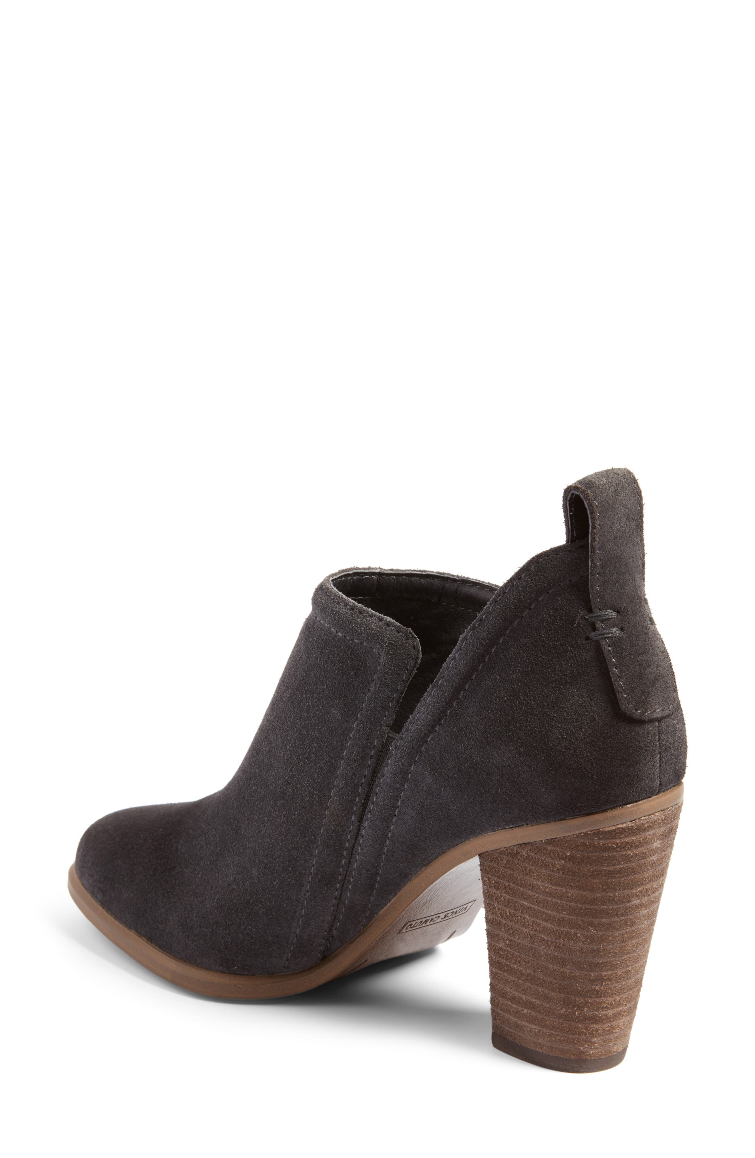 Francia Bootie,                             Alternate thumbnail 2, color,                             Granite Peak