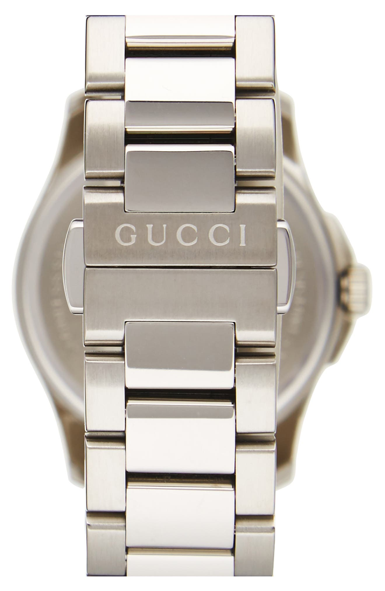 Alternate Image 2  - Gucci G-Timeless Bracelet Watch, 27mm