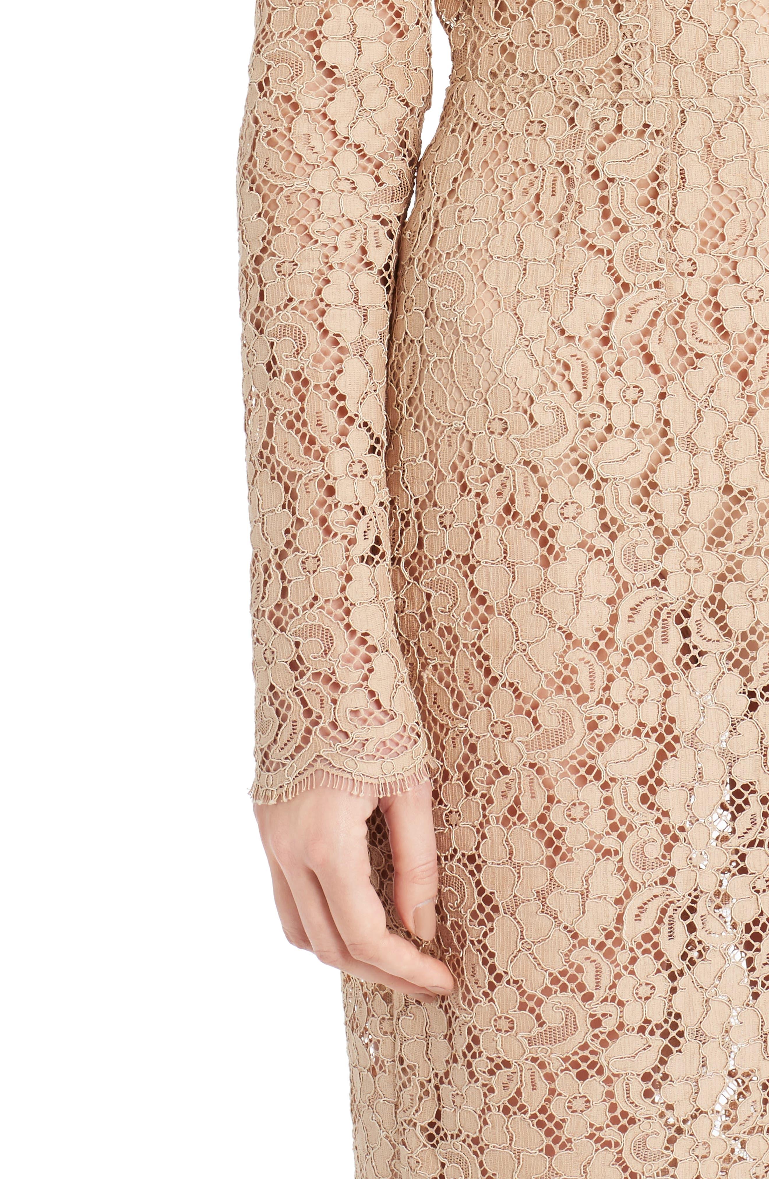 Alternate Image 6  - Dolce&Gabbana Lace Sheath Dress